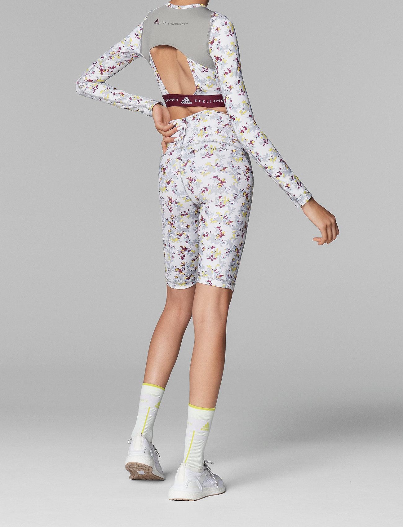 adidas by Stella McCartney - TruePurpose Allover Print Cycling Tights W - training shorts - white/multco - 3