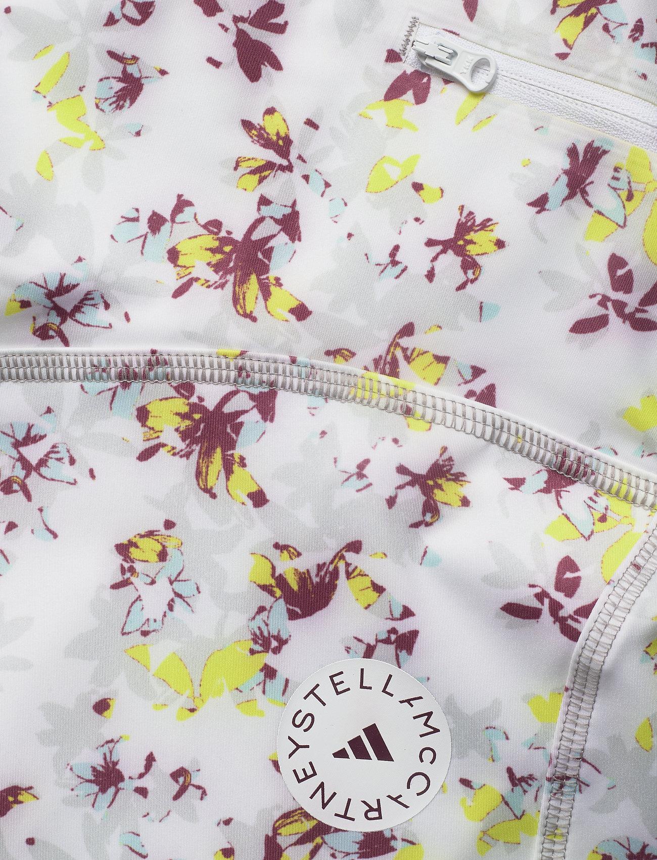adidas by Stella McCartney - TruePurpose Allover Print Cycling Tights W - training shorts - white/multco - 6