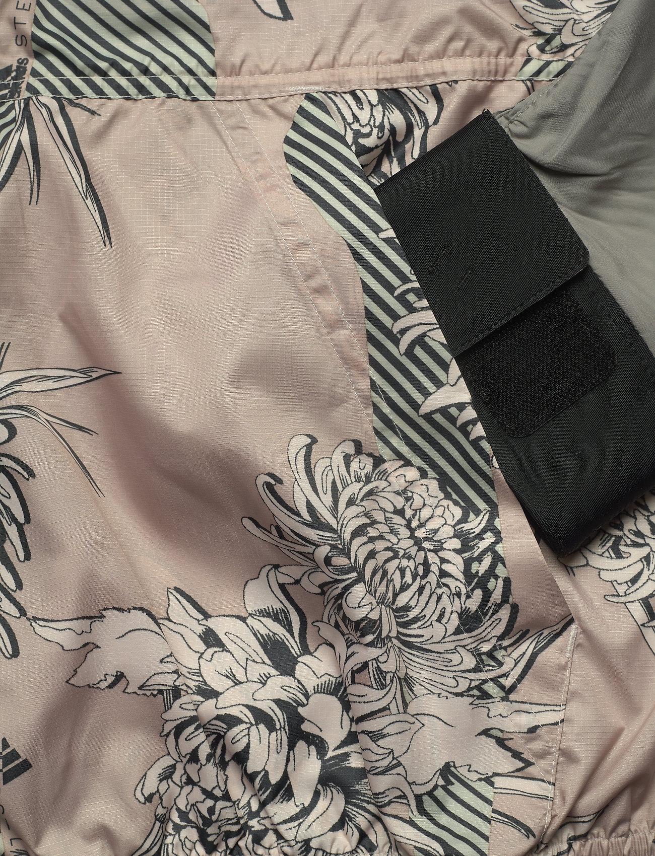 adidas by Stella McCartney - Future Playground Half-Zip Printed Jacket W - träningsjackor - pnktin/talc/pearos/bl - 5