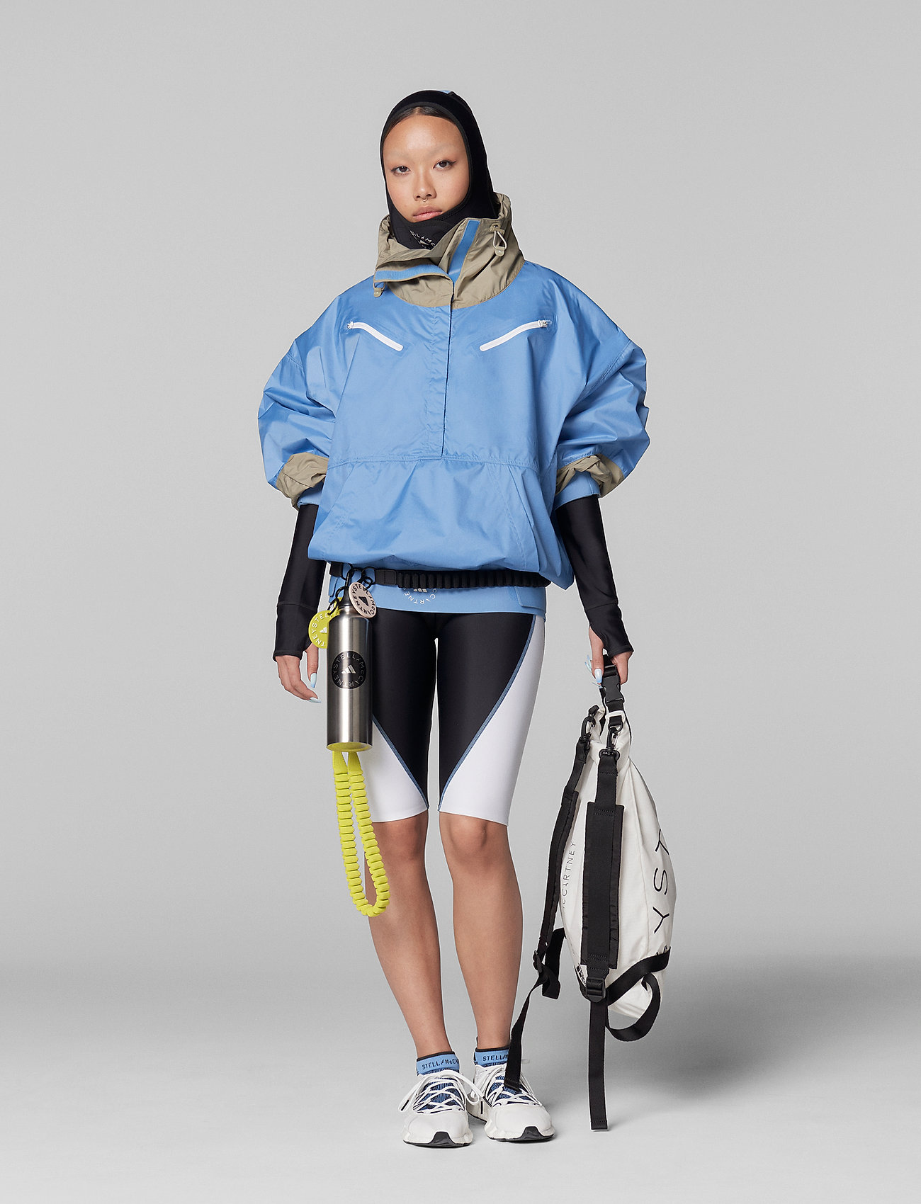 adidas by Stella McCartney - BeachDefender Half-Zip Jacket W - training jackets - stoblu - 0