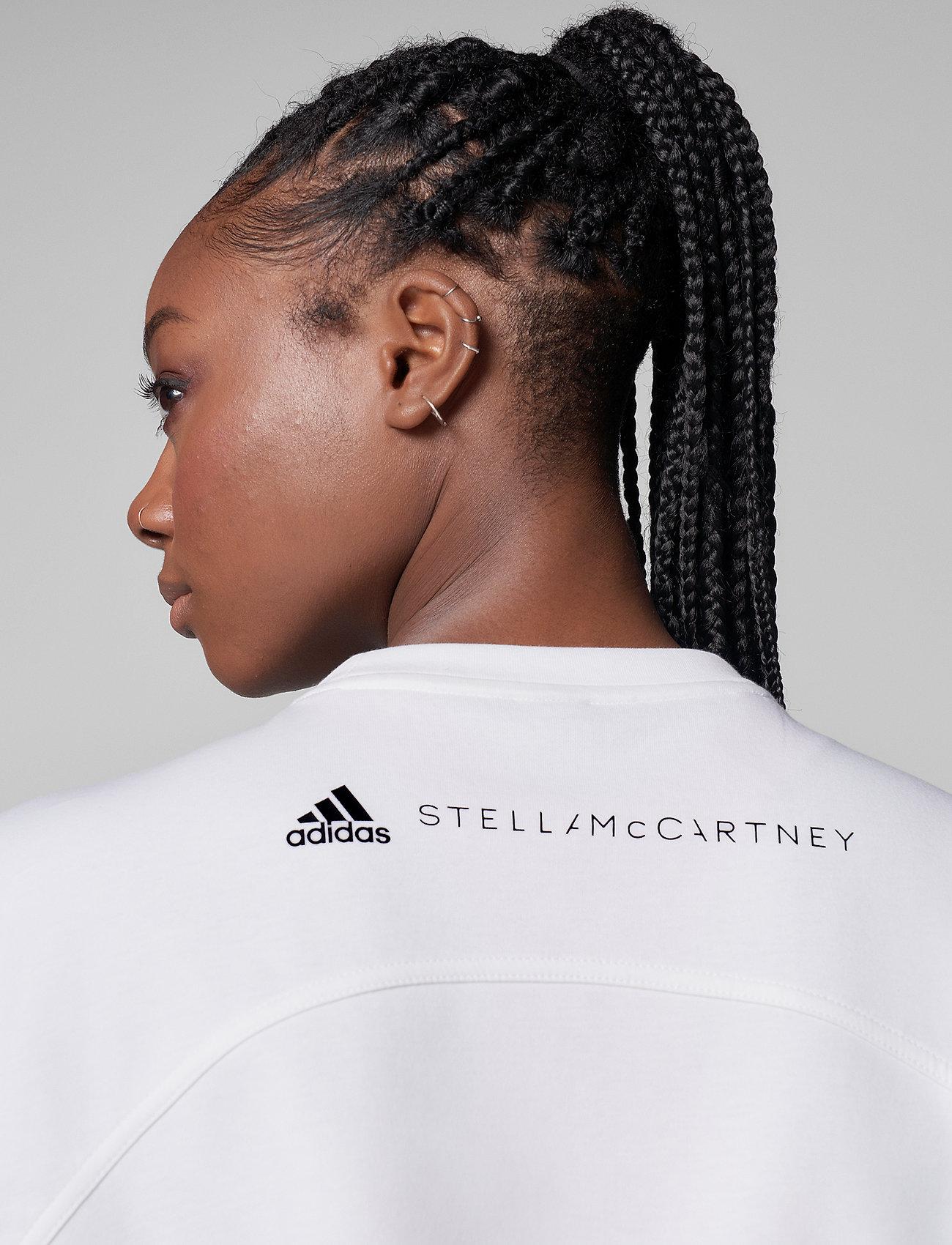 adidas by Stella McCartney - Future Playground Cropped T-Shirt W - crop tops - white - 4