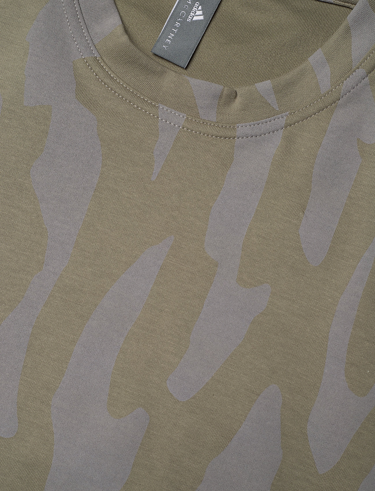 adidas by Stella McCartney - Future Playground T-Shirt W - t-shirts - clay/dovgry - 2
