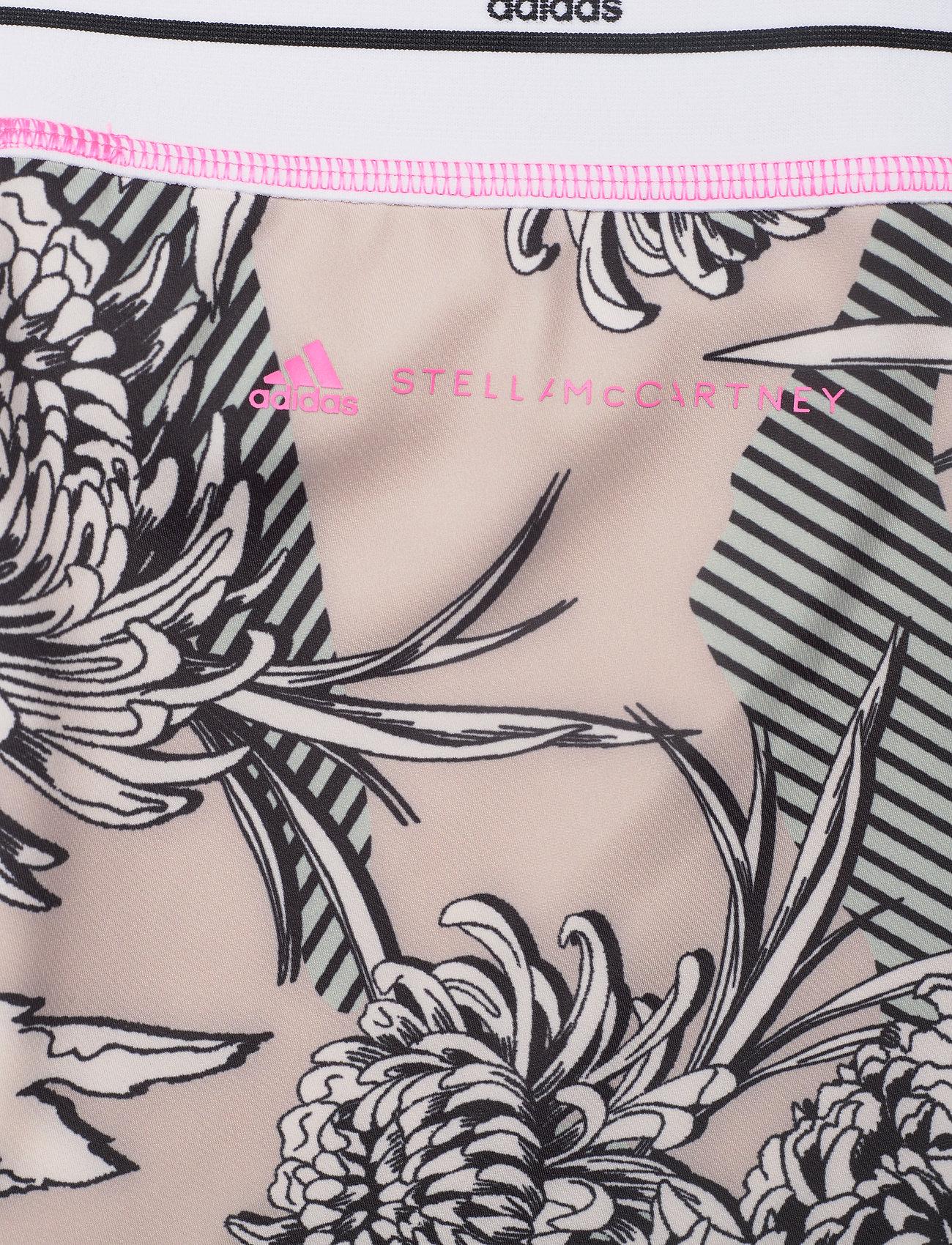 adidas by Stella McCartney - Future Playground Tights W - löpnings- och träningstights - pnktin/talc/pearos/bl - 4