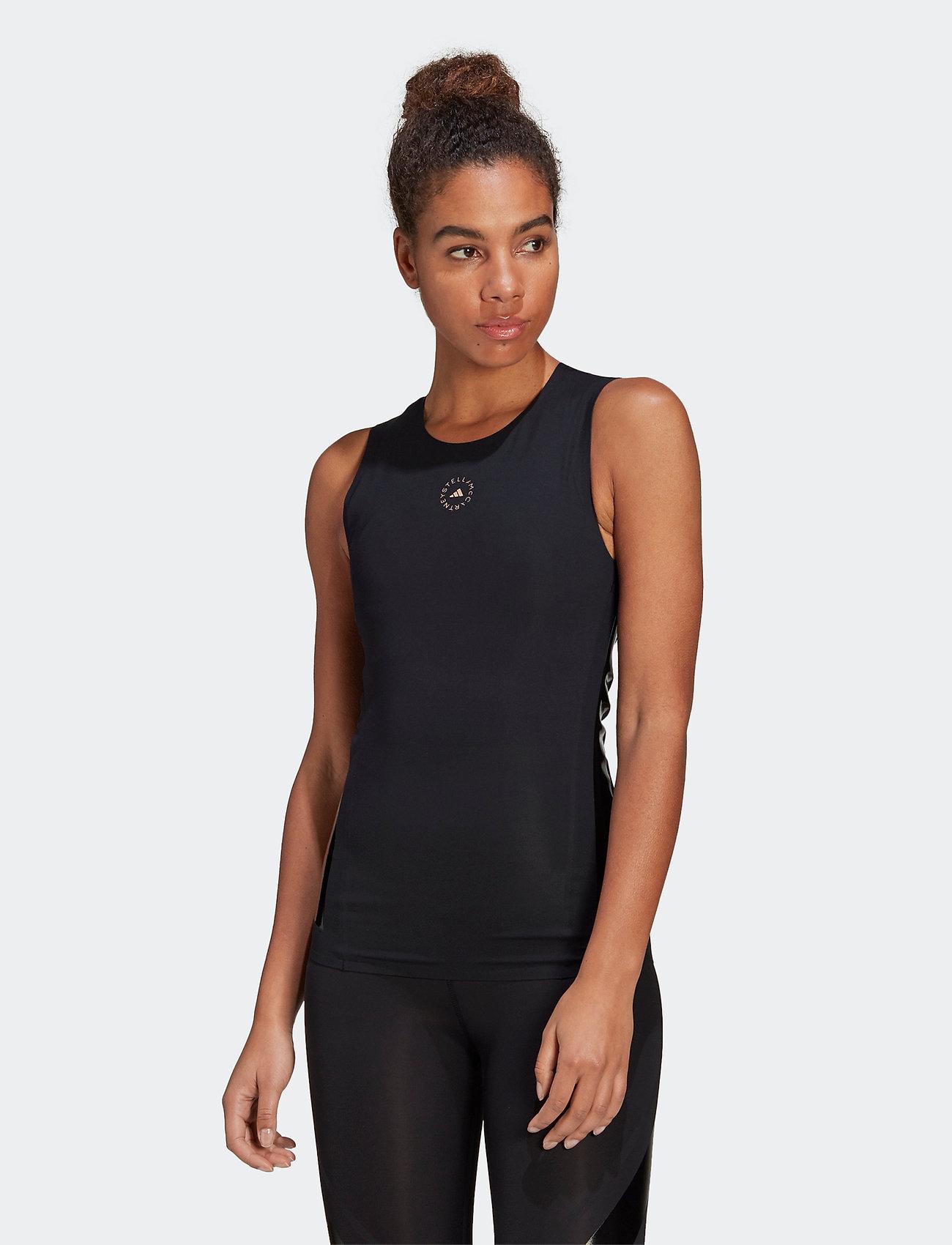 adidas by Stella McCartney - Support Core Tank Top W - sleeveless tops - black - 0