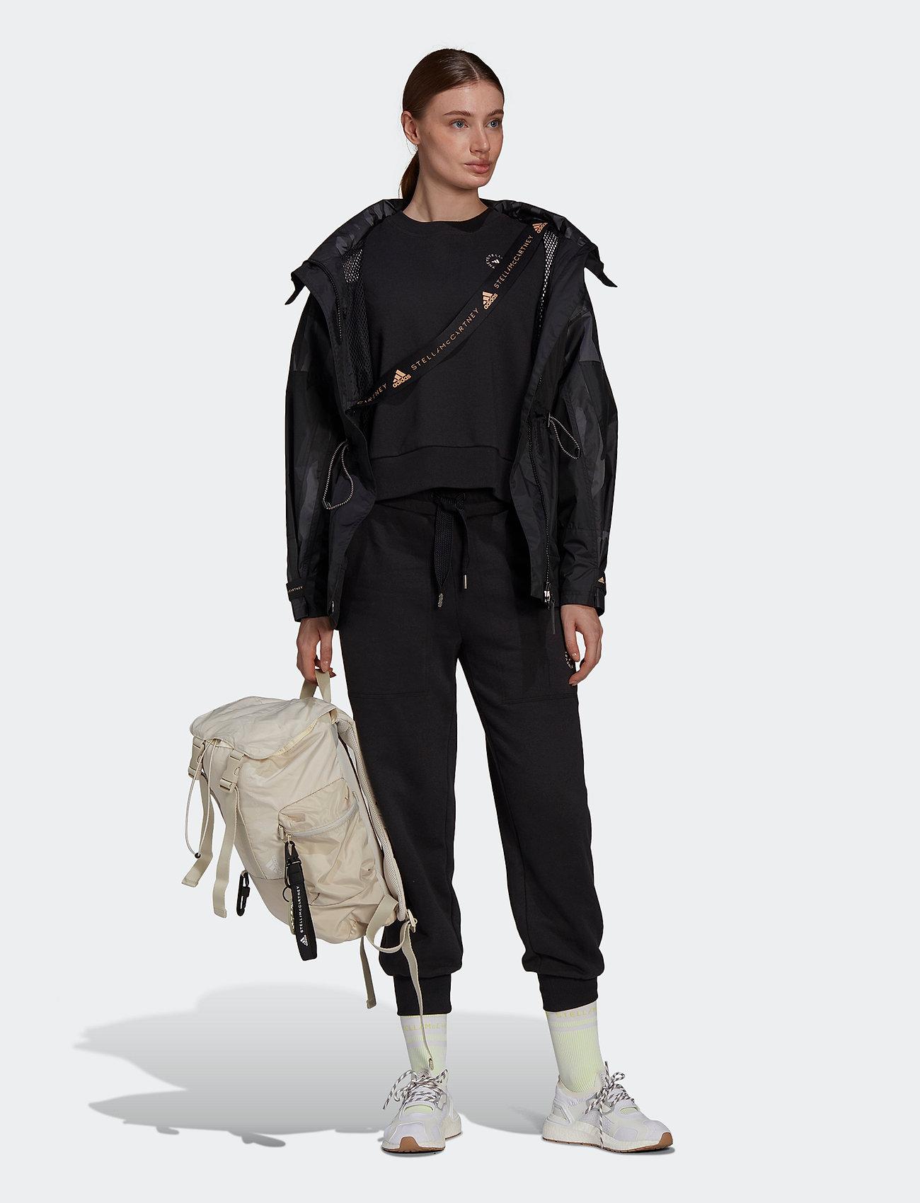 adidas by Stella McCartney - TruePace Jacquard Jacket W - parka coats - black - 4
