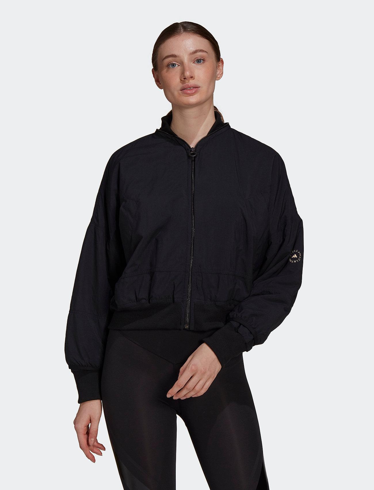 adidas by Stella McCartney - Woven Bomber Jacket W - bomberjacken - black - 0