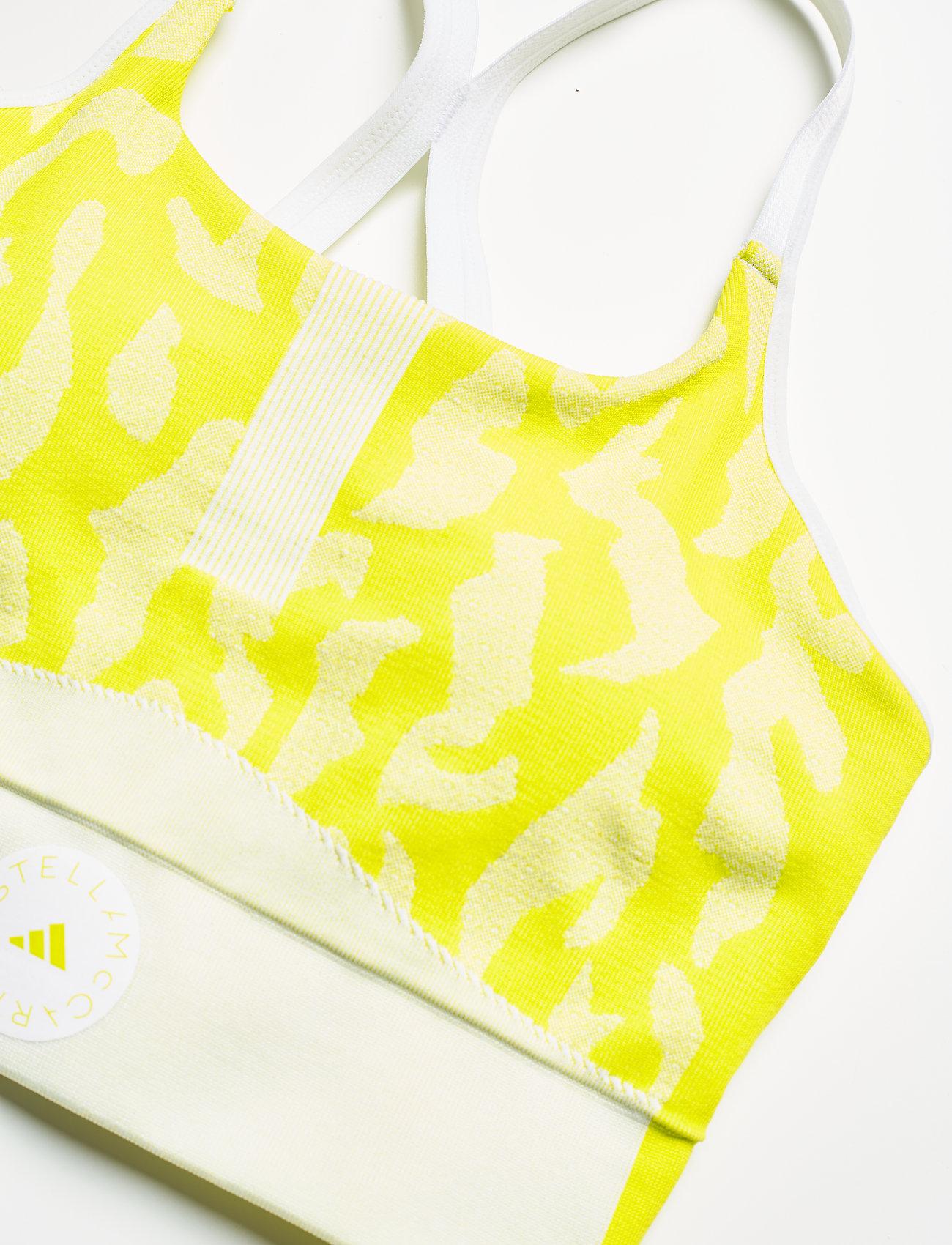 adidas by Stella McCartney - TruePurpose Seamless Bra W - sport bras: low - aciyel/white - 5