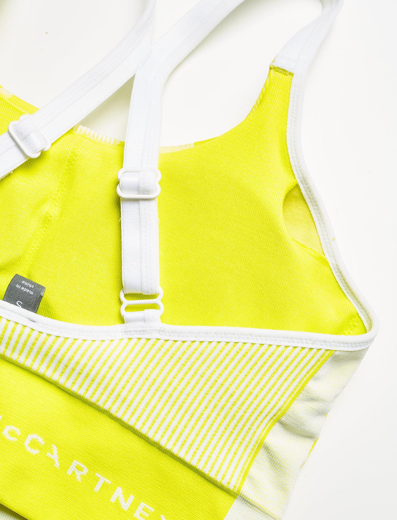 adidas by Stella McCartney - TruePurpose Seamless Bra W - sport bras: low - aciyel/white - 6