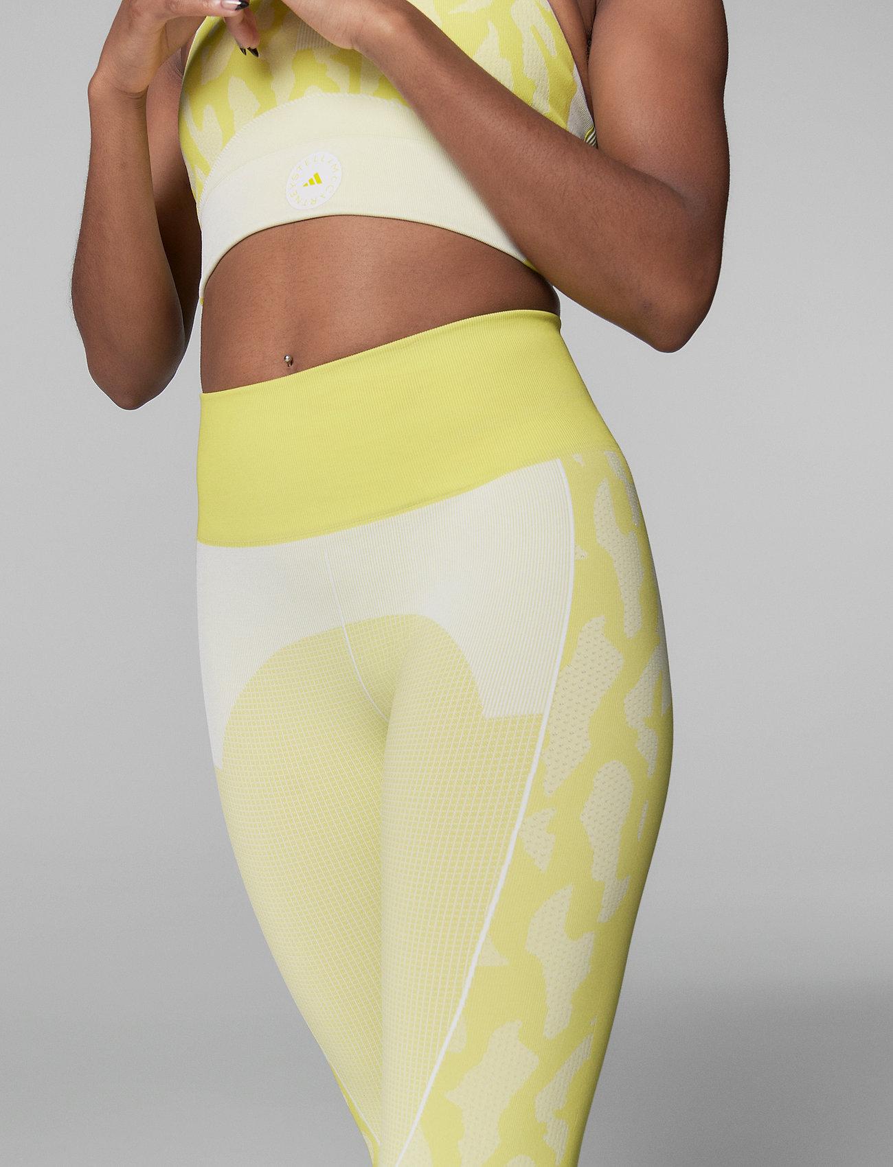 adidas by Stella McCartney - TruePurpose Seamless Tights W - löpnings- och träningstights - aciyel/white - 0