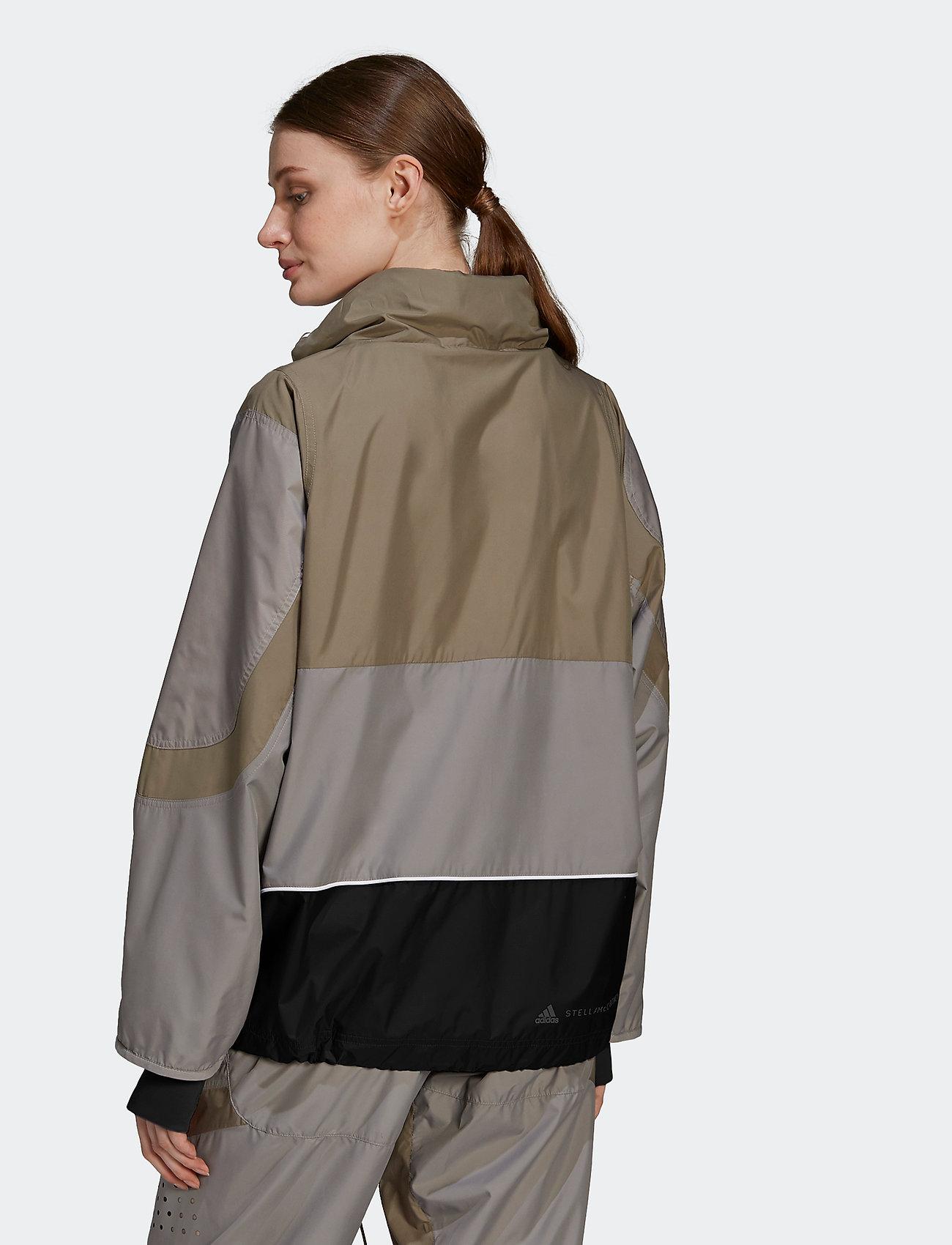 adidas by Stella McCartney - Training Suit Jacket W - training jackets - dovgry/clay/black - 5