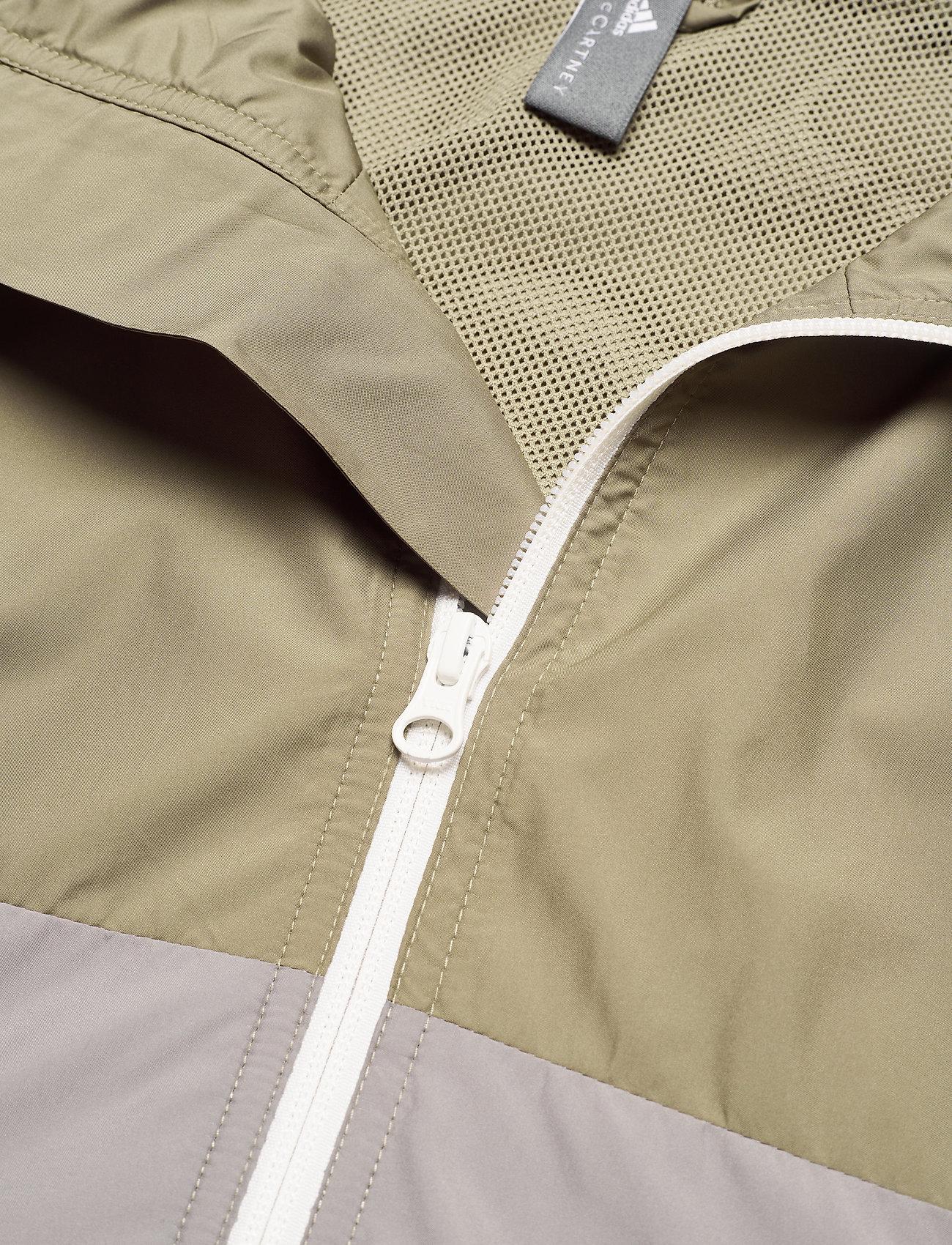 adidas by Stella McCartney - Training Suit Jacket W - training jackets - dovgry/clay/black - 3