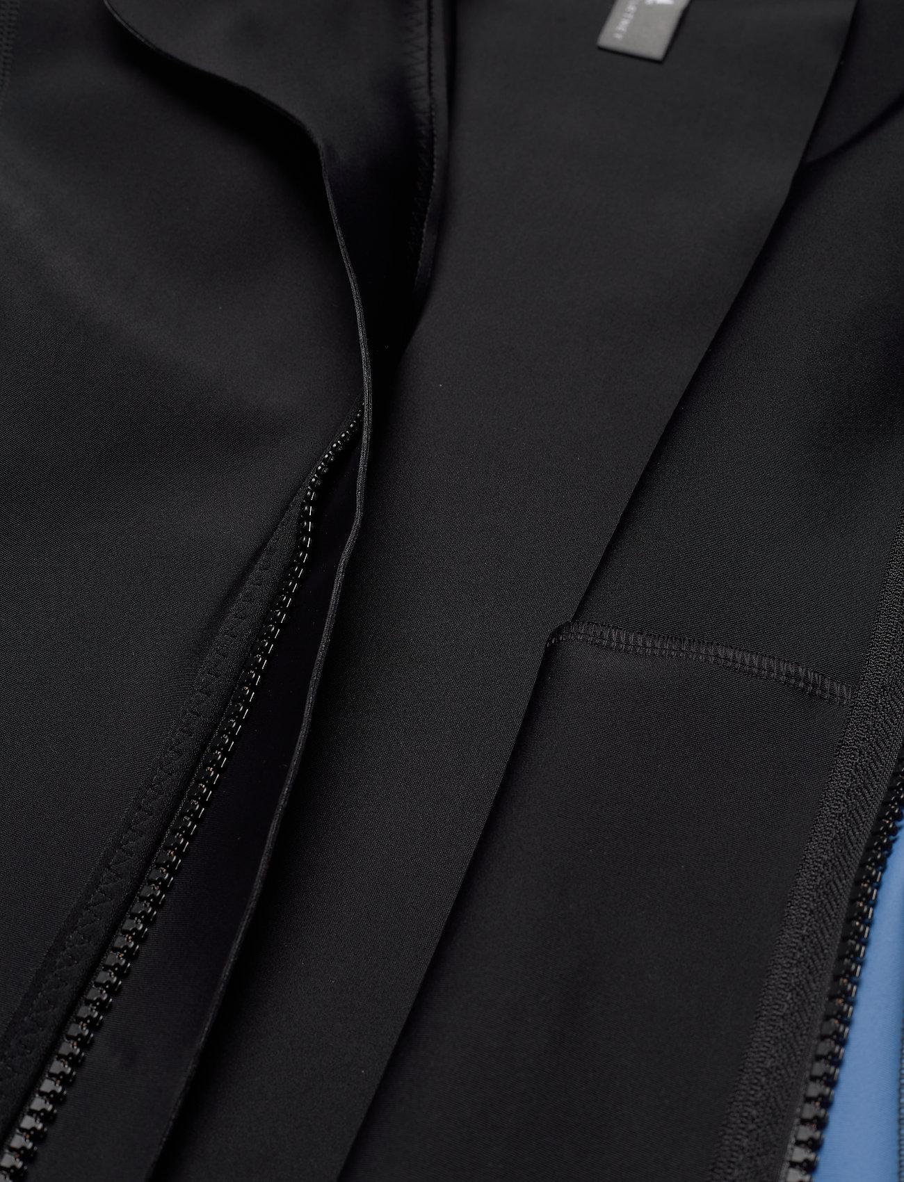 adidas by Stella McCartney - BeachDefender Midlayer Jacket W - sweatshirts & hoodies - black/stoblu - 8