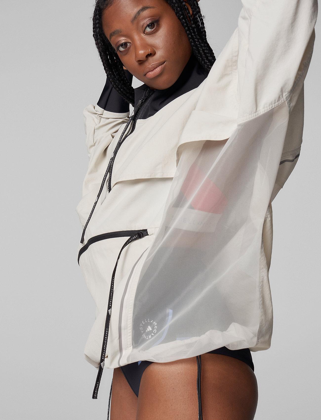adidas by Stella McCartney - BeachDefender Run Swim Clean Cover-Up W - training jackets - talc - 4