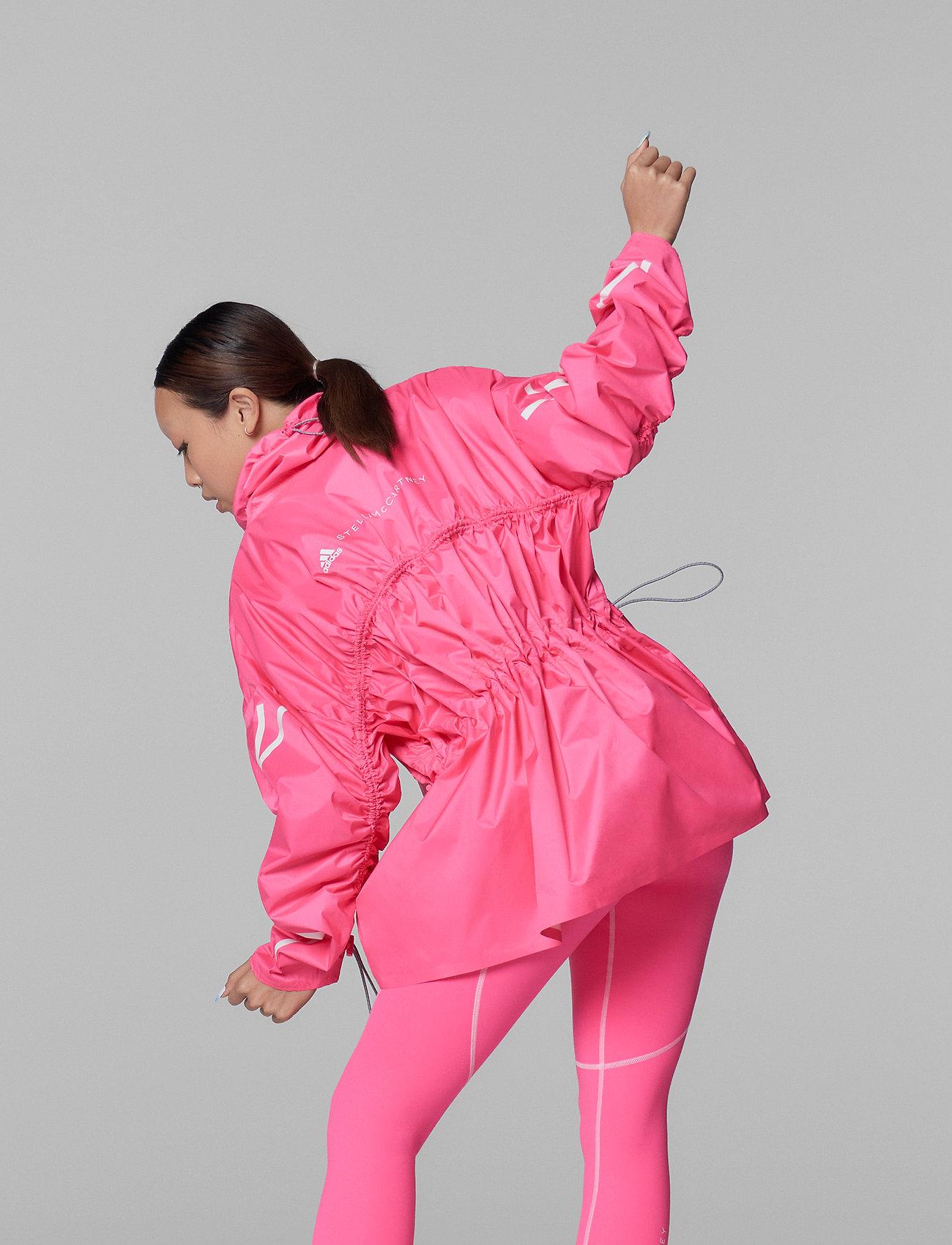 adidas by Stella McCartney - Half-Zip Mid-Length Jacket W - training jackets - sopink - 4