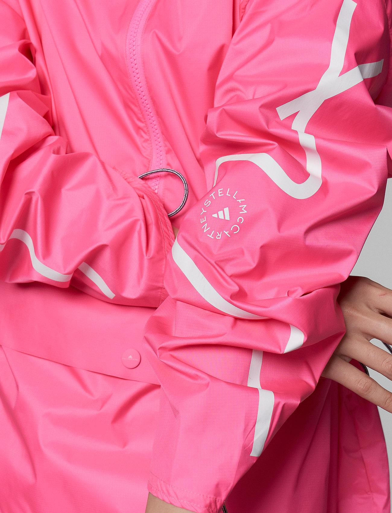adidas by Stella McCartney - Half-Zip Mid-Length Jacket W - training jackets - sopink - 6