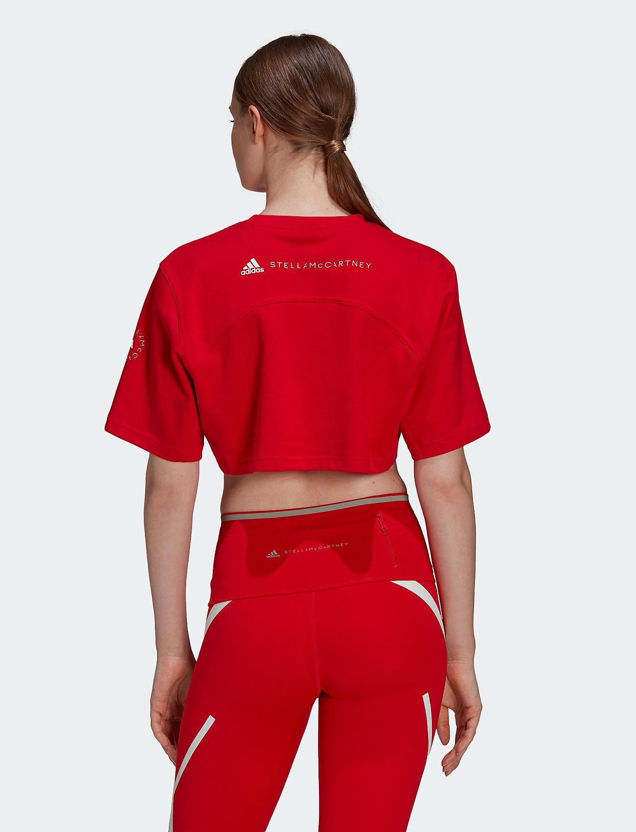 adidas by Stella McCartney - Future Playground Cropped T-Shirt W - tops & t-shirts - vivred - 3
