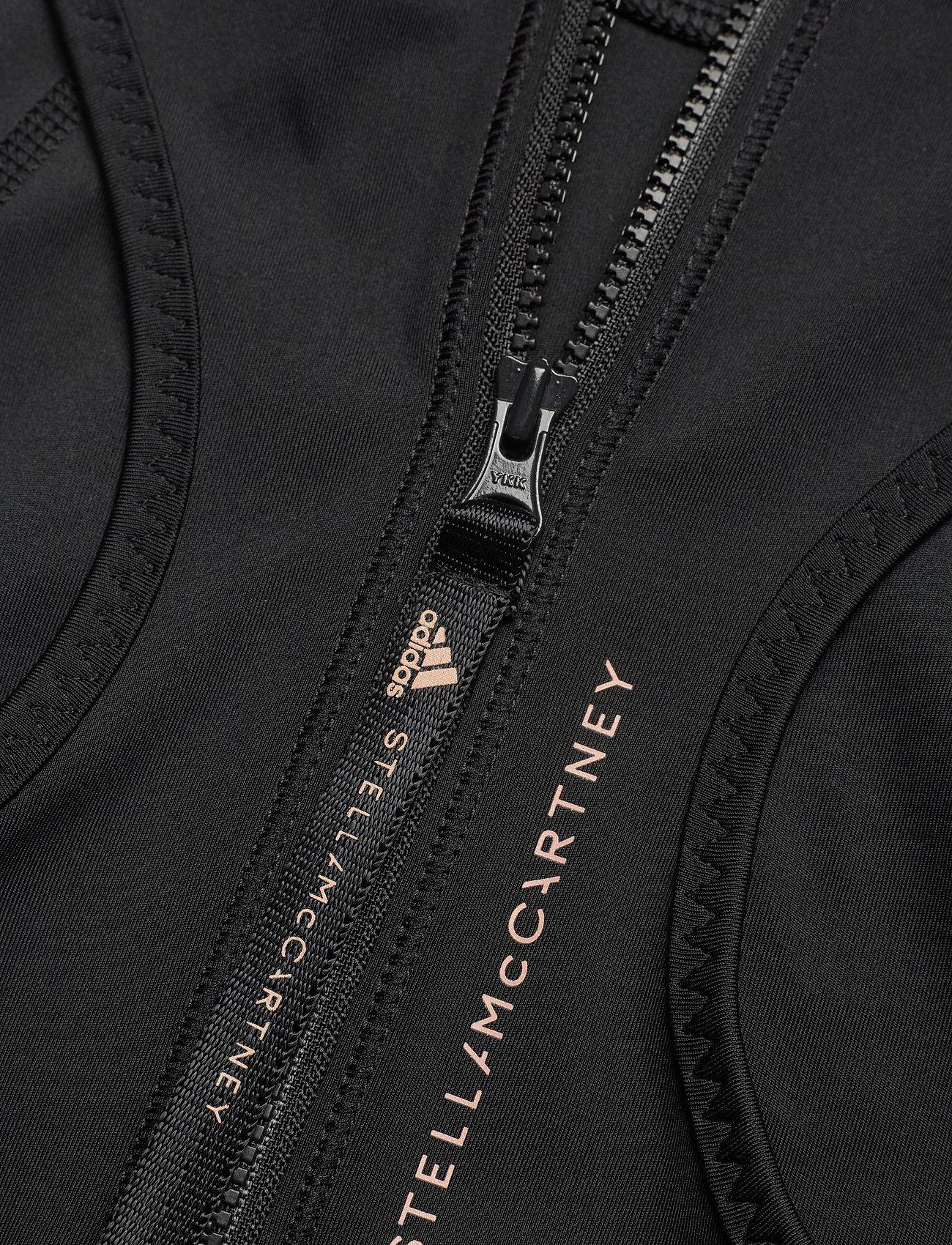 adidas by Stella McCartney - TruePace HEAT.RDY Running Crop Top W - tops & t-shirts - black - 5