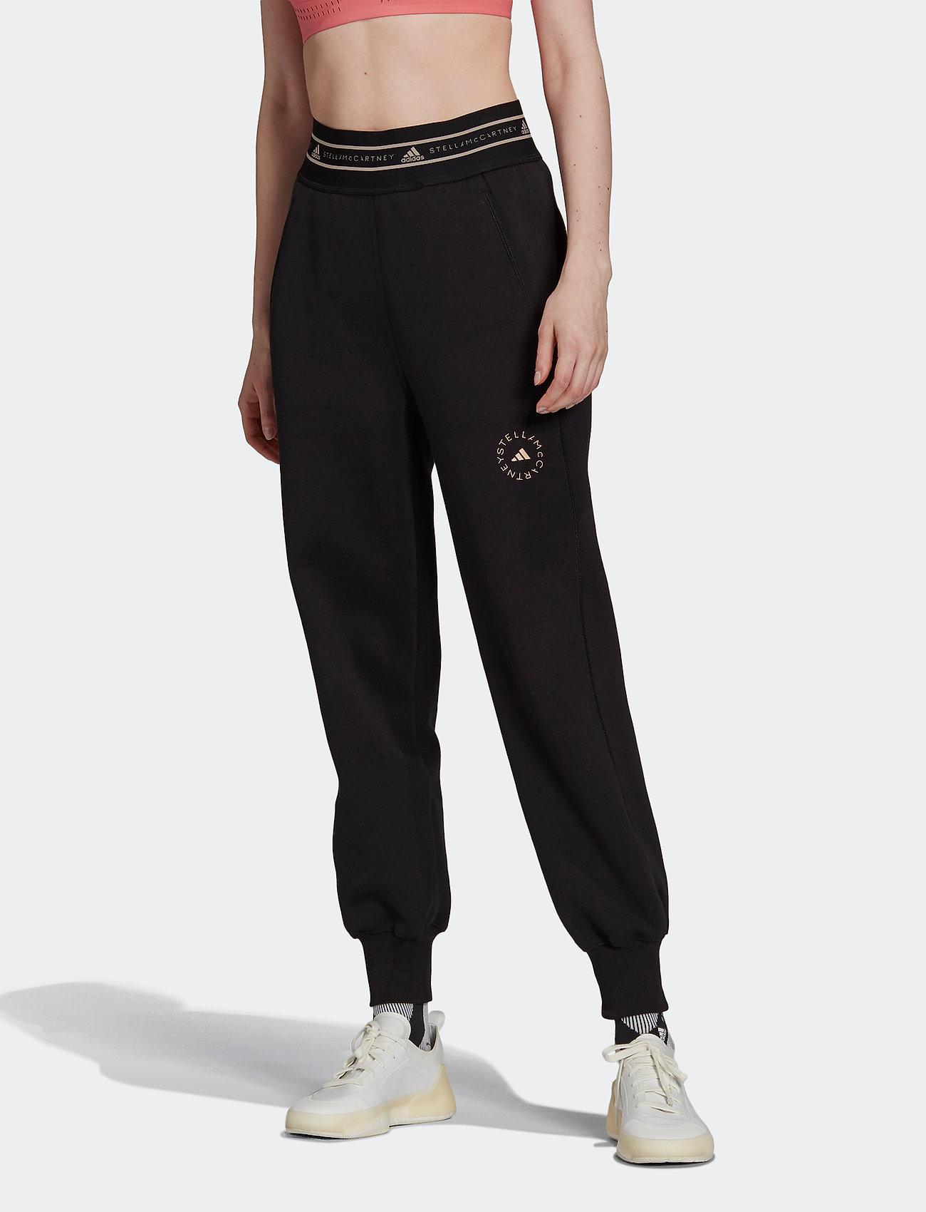 adidas by Stella McCartney - SC Sweat Pants W - sport - black - 0