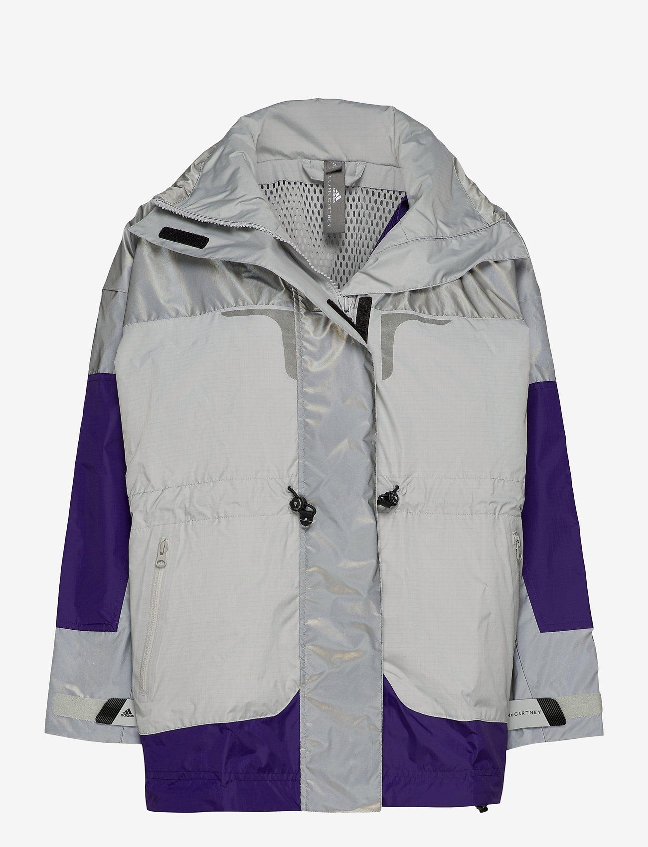 adidas by Stella McCartney - URBXTR SH JKT - training jackets - refsil/clonix/cpurpl - 1