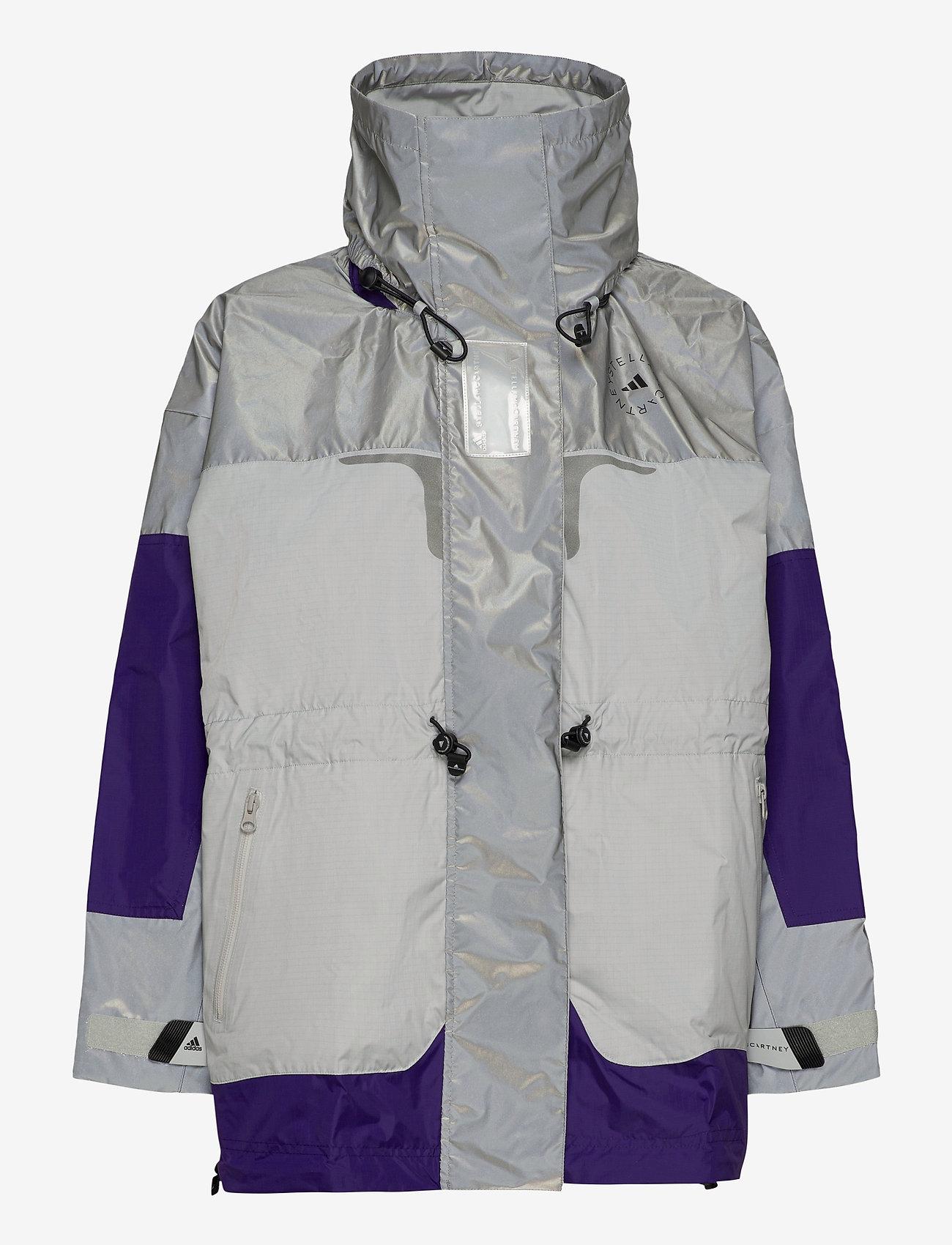 adidas by Stella McCartney - URBXTR SH JKT - training jackets - refsil/clonix/cpurpl - 2