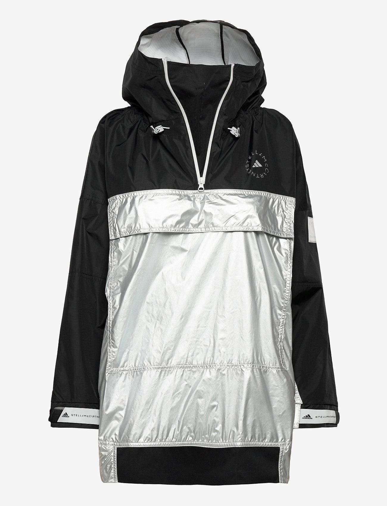 adidas by Stella McCartney - URBXTR PULLON - träningsjackor - black/metsil - 1