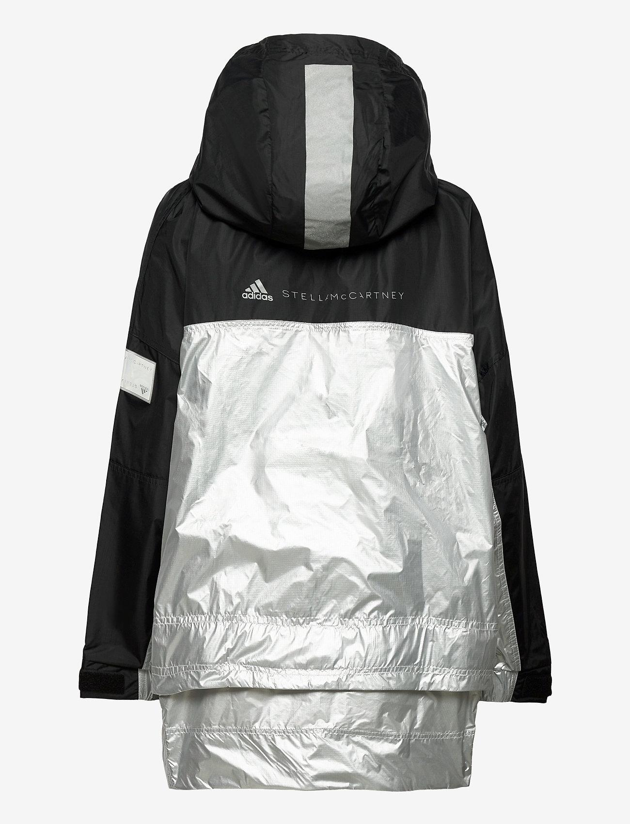 adidas by Stella McCartney - URBXTR PULLON - training jackets - black/metsil - 3