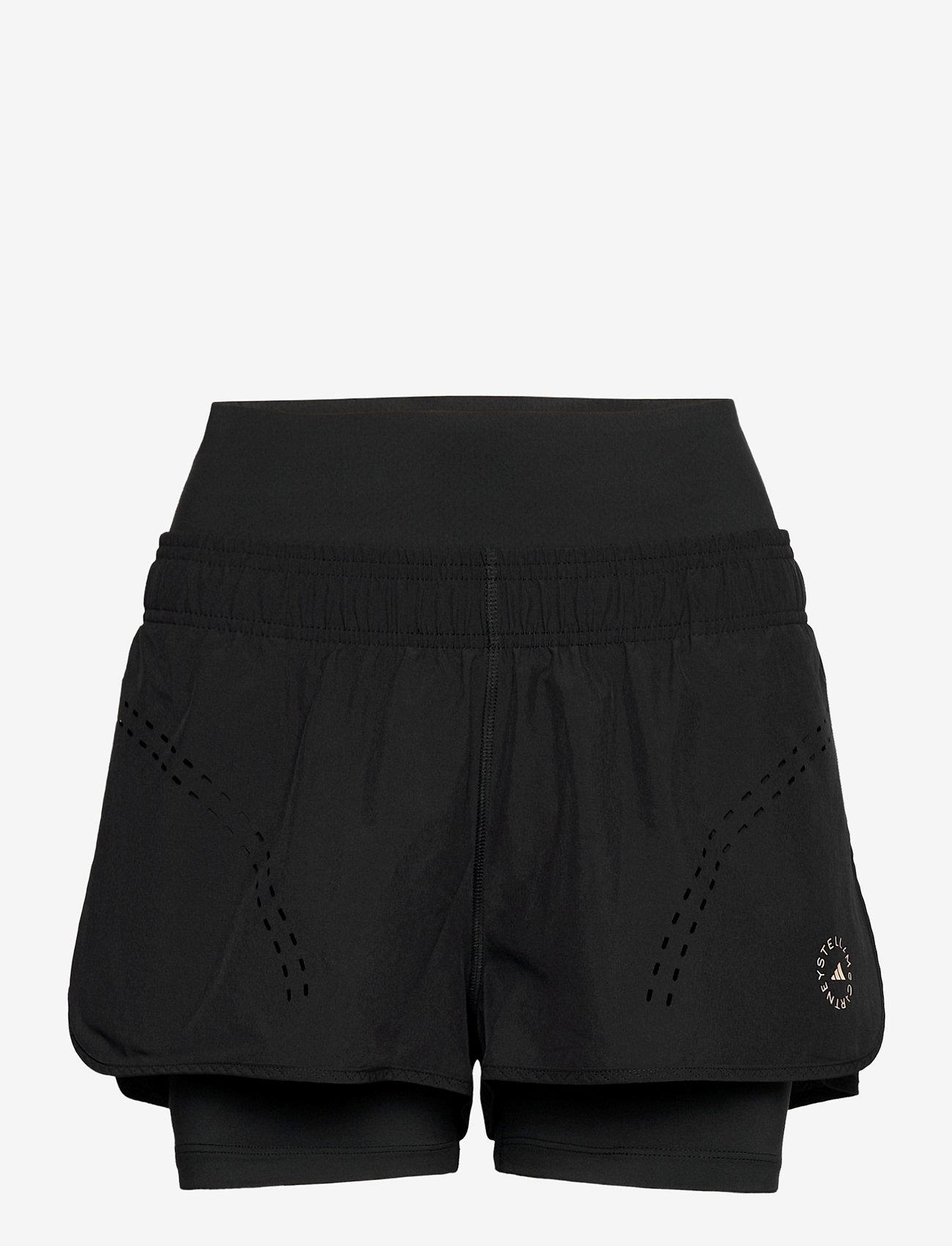 adidas by Stella McCartney - TruePurpose High Intensity Shorts W - tights & shorts - black - 1