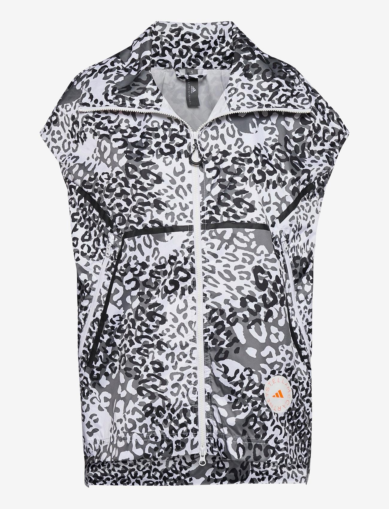 adidas by Stella McCartney - TRUEPACE GILET - toppaliivit - white/black/ash - 1