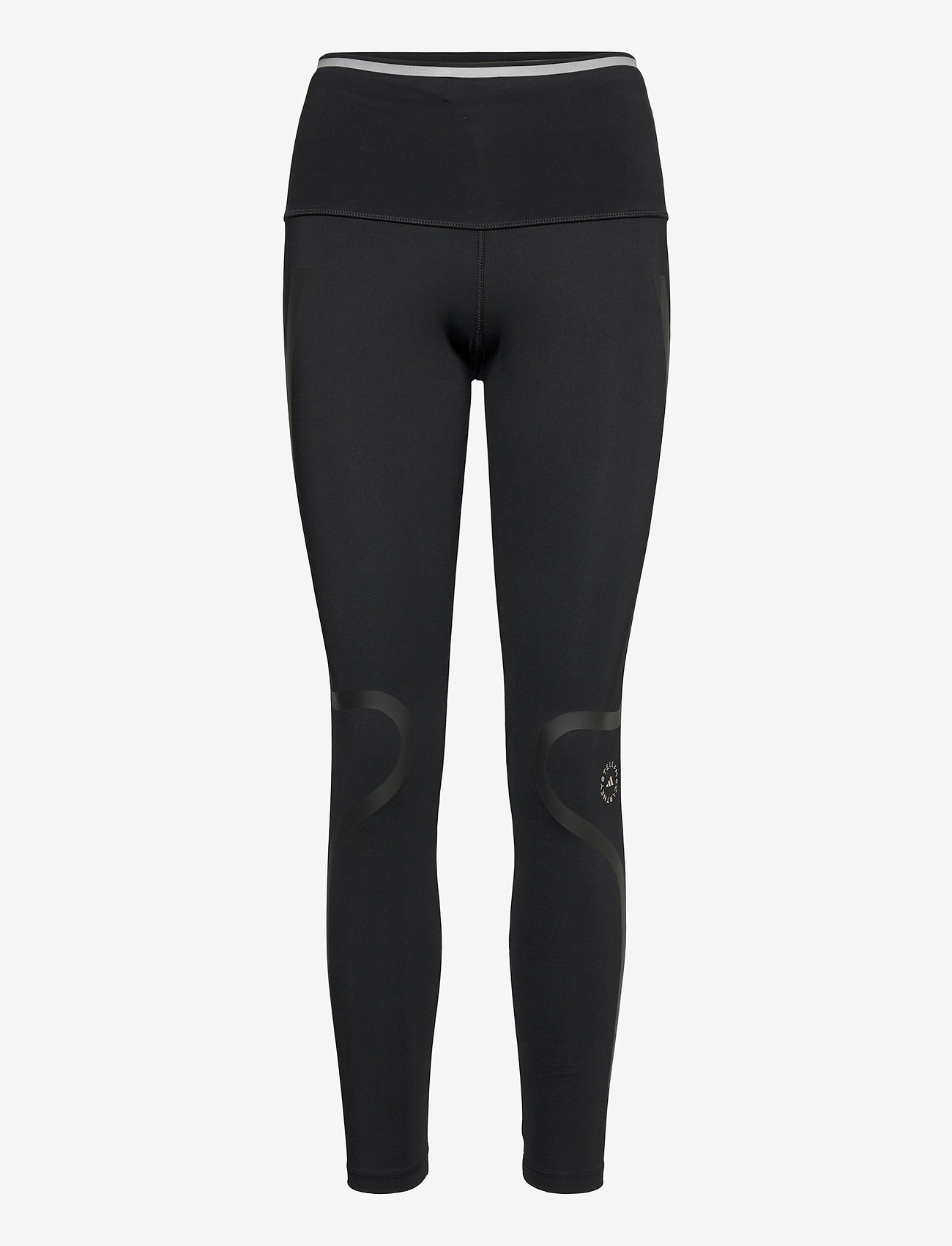 adidas by Stella McCartney - TruePace Medium Waist Long Tights W - tights & shorts - black - 0