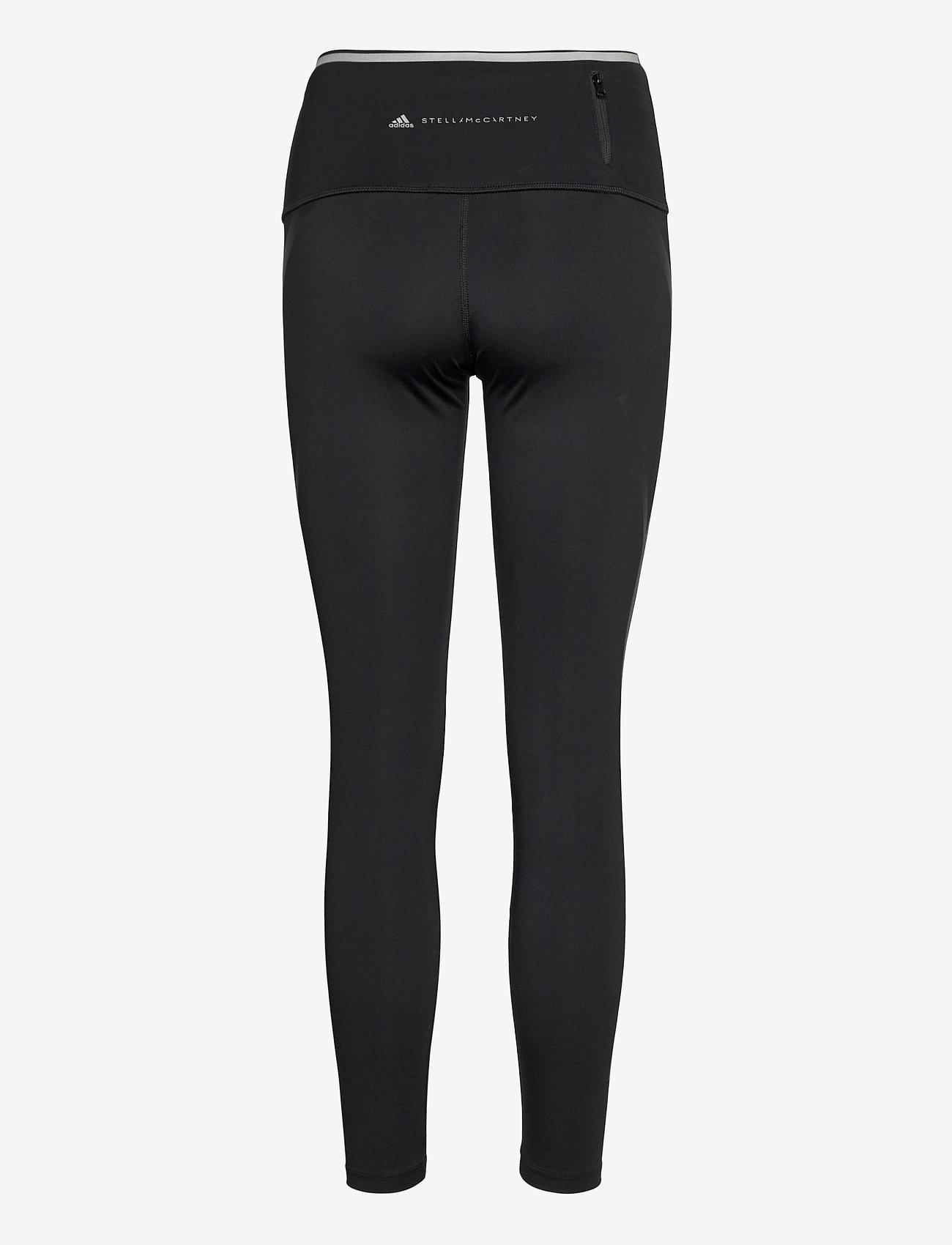 adidas by Stella McCartney - TruePace Medium Waist Long Tights W - tights & shorts - black - 1
