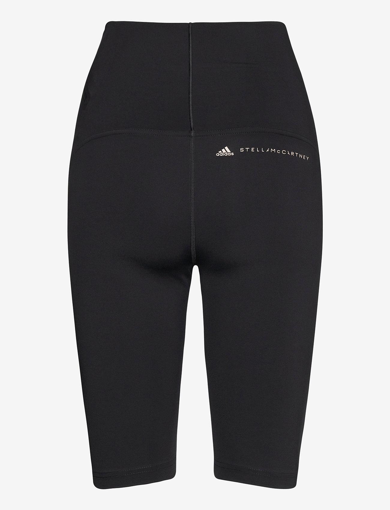 adidas by Stella McCartney - TruePurpose High Waist Bike Shorts W - tights & shorts - black - 1
