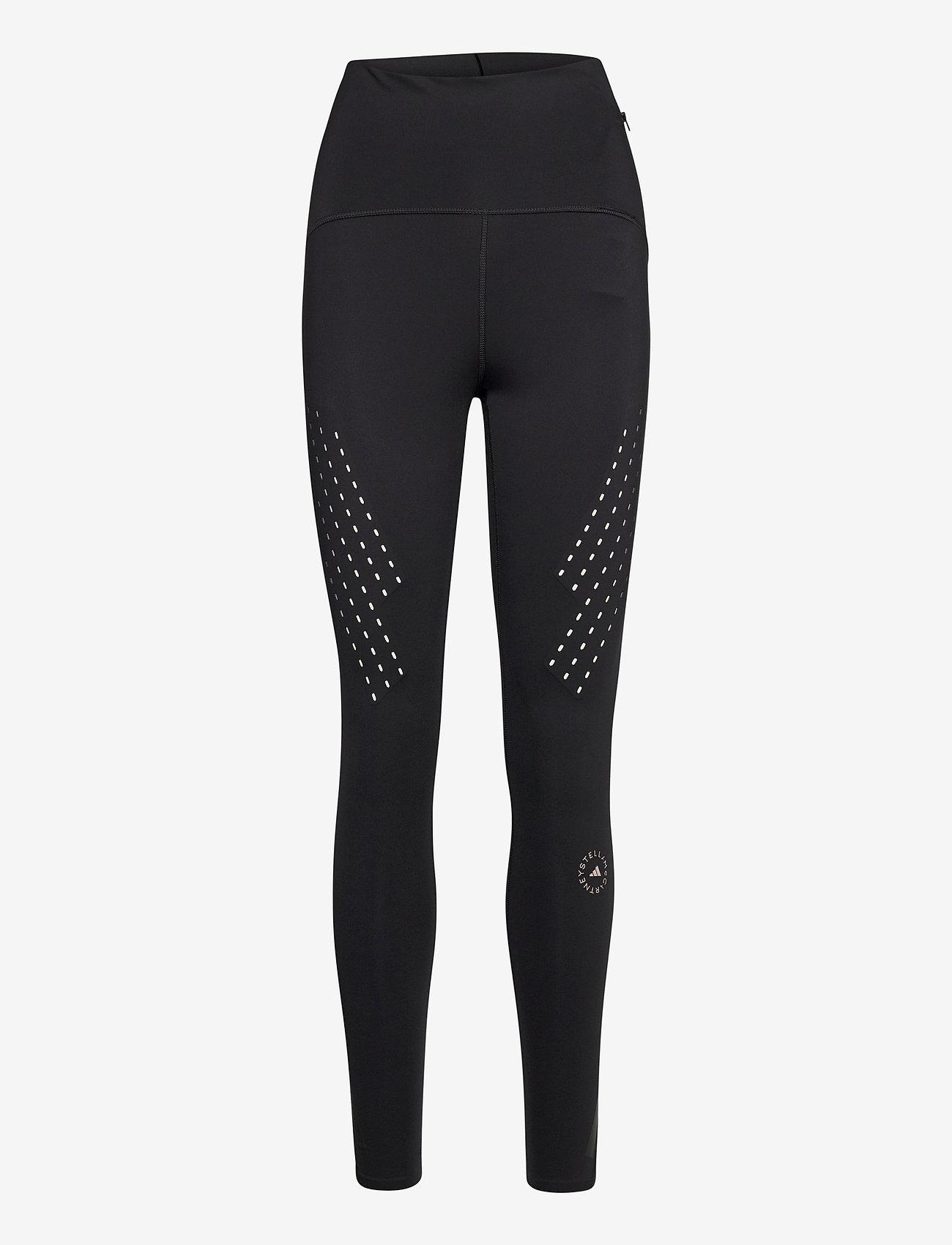 adidas by Stella McCartney - TruePurpose High Waist Tights W - tights & shorts - black - 0