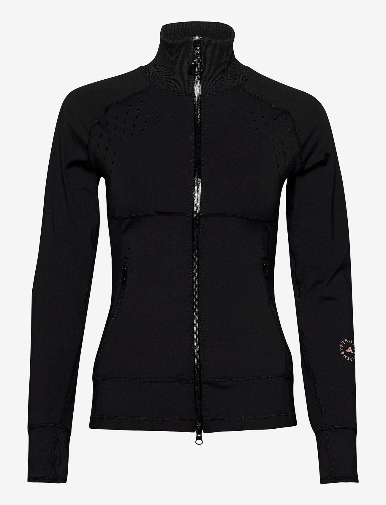 adidas by Stella McCartney - TruePurpose Midlayer Jacket W - collegepaidat ja hupparit - black - 0