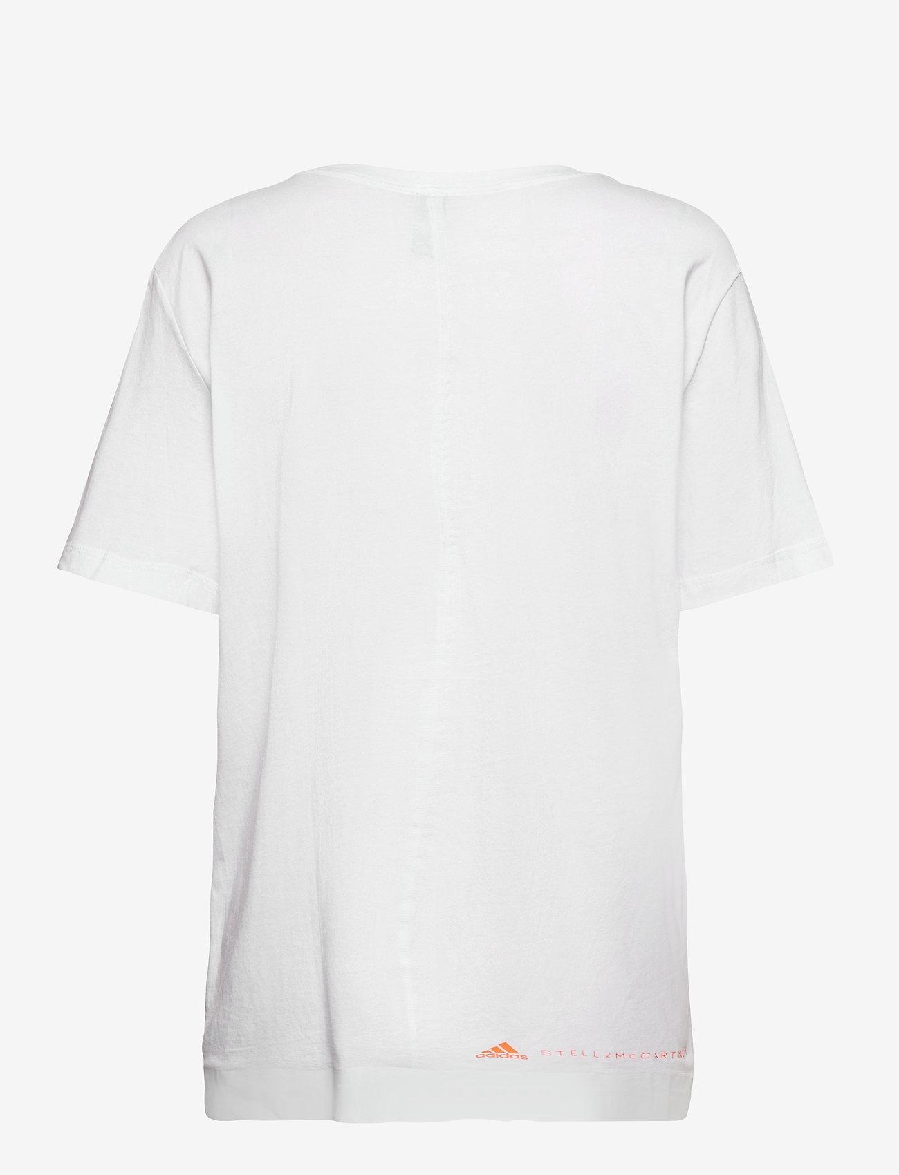 adidas by Stella McCartney - COTTON TEE - t-shirts - white - 1