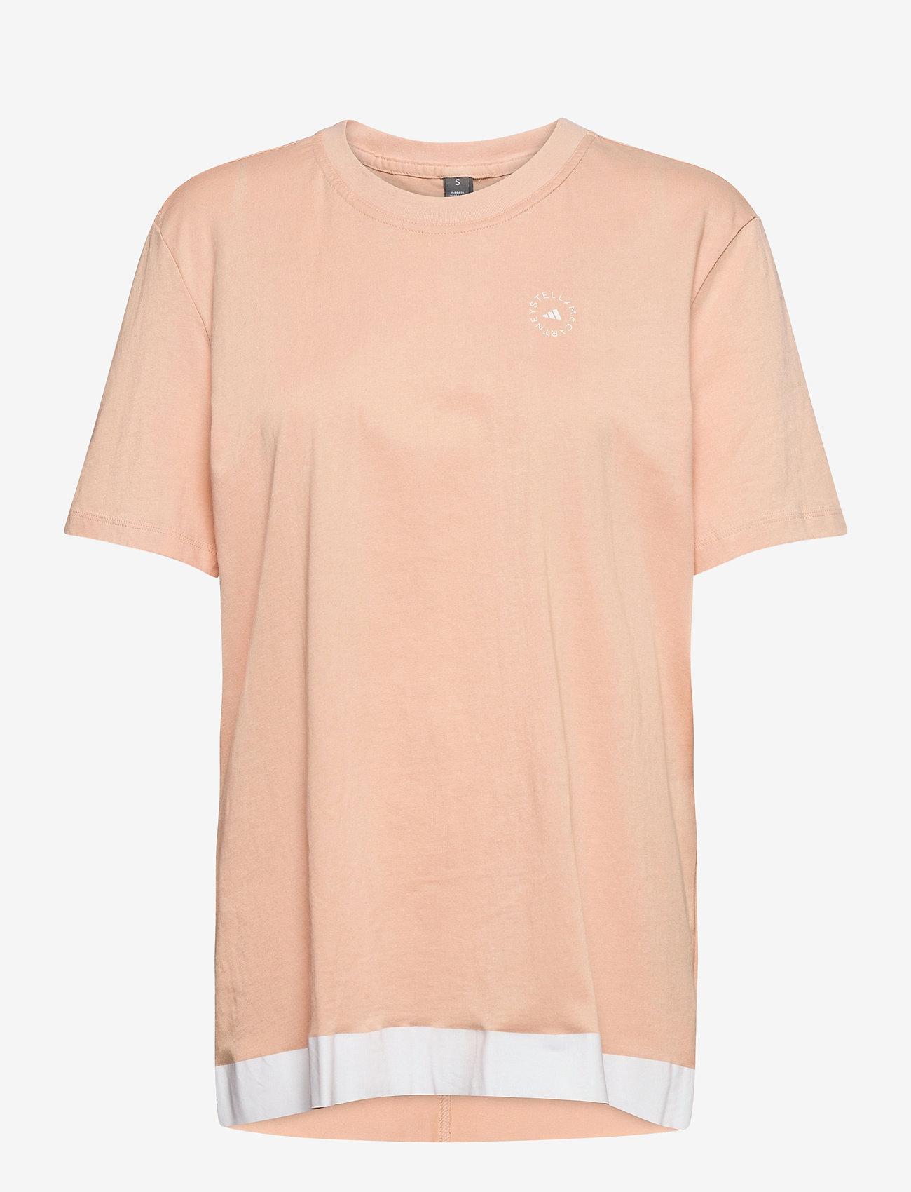adidas by Stella McCartney - COTTON TEE - t-shirts - sofpow - 0