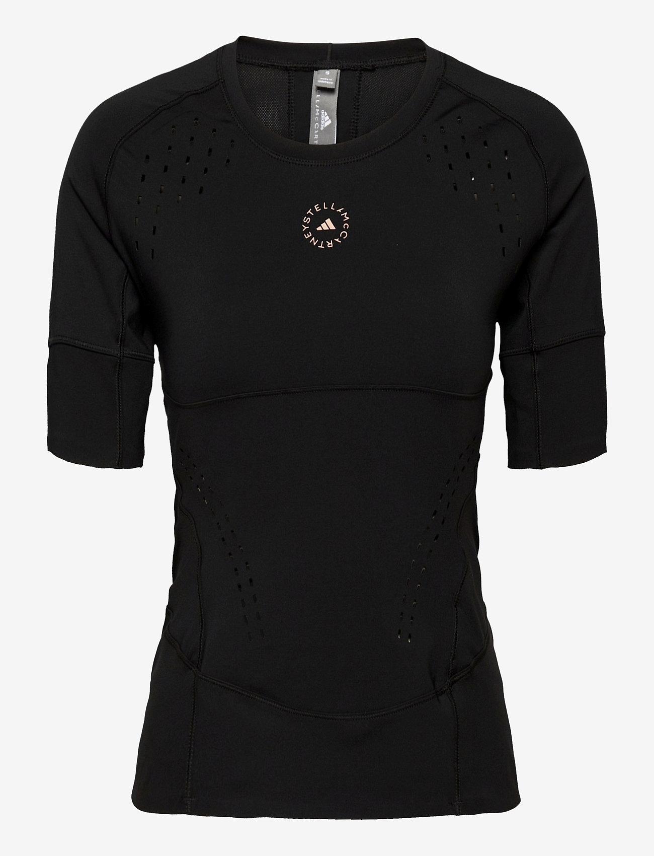 adidas by Stella McCartney - TruePurpose Tee W - t-shirts - black - 0