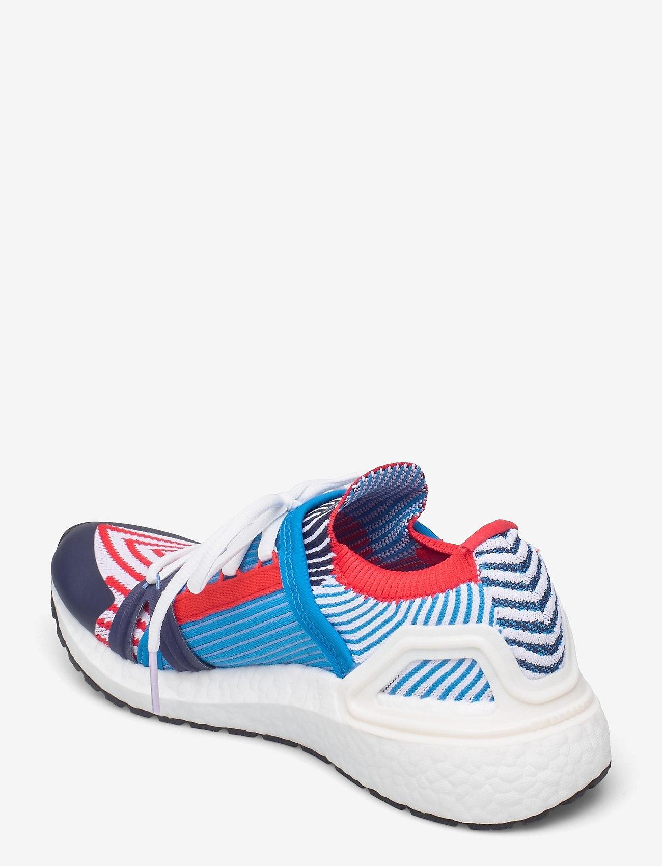 adidas by Stella McCartney - Ultraboost 20 W - running shoes - brblue/conavy/vivred - 2
