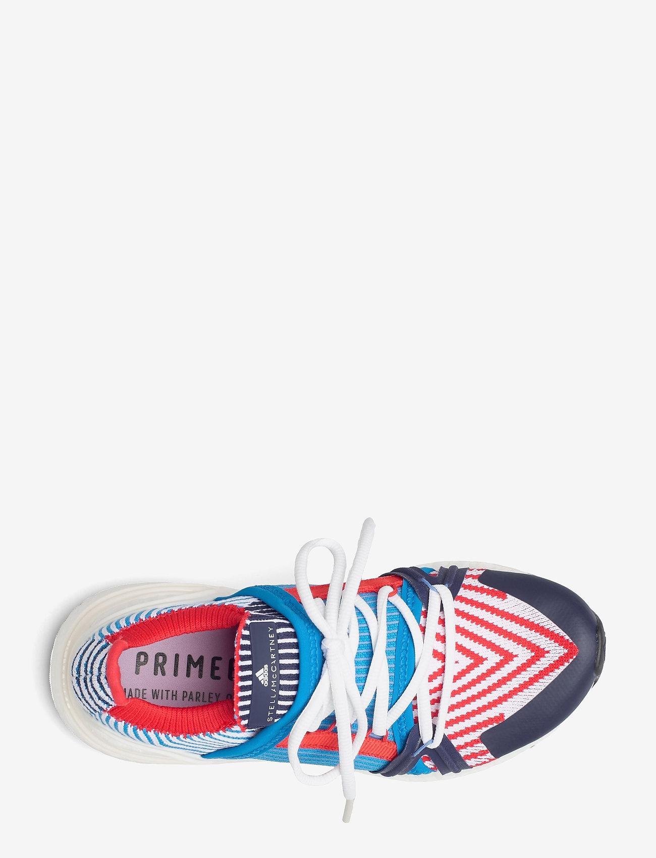 adidas by Stella McCartney - Ultraboost 20 W - running shoes - brblue/conavy/vivred - 3