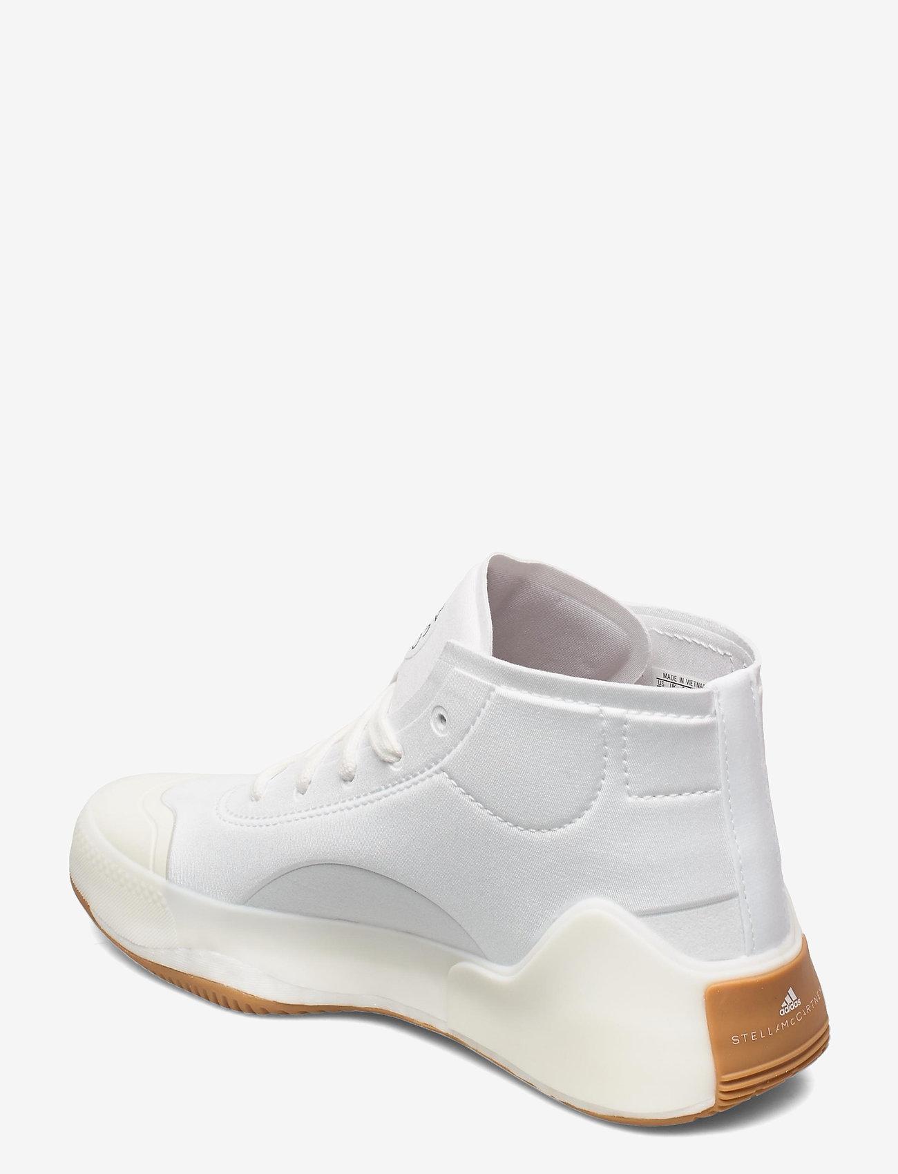 adidas by Stella McCartney - aSMC Treino Mid - höga sneakers - ftwwht/owhite/pearos - 3
