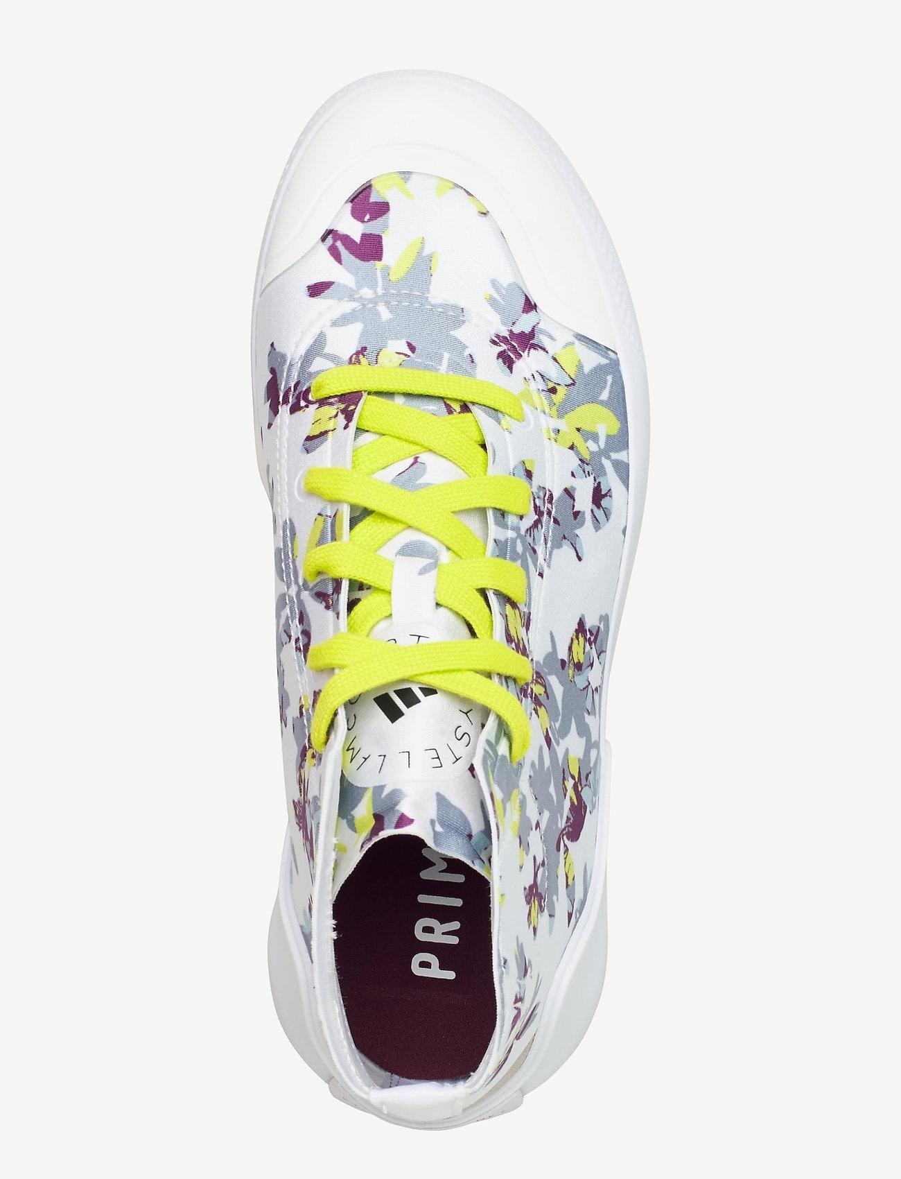 adidas by Stella McCartney - Treino Mid-Cut W - high top sneakers - ftwwht/cblack/aciyel - 3