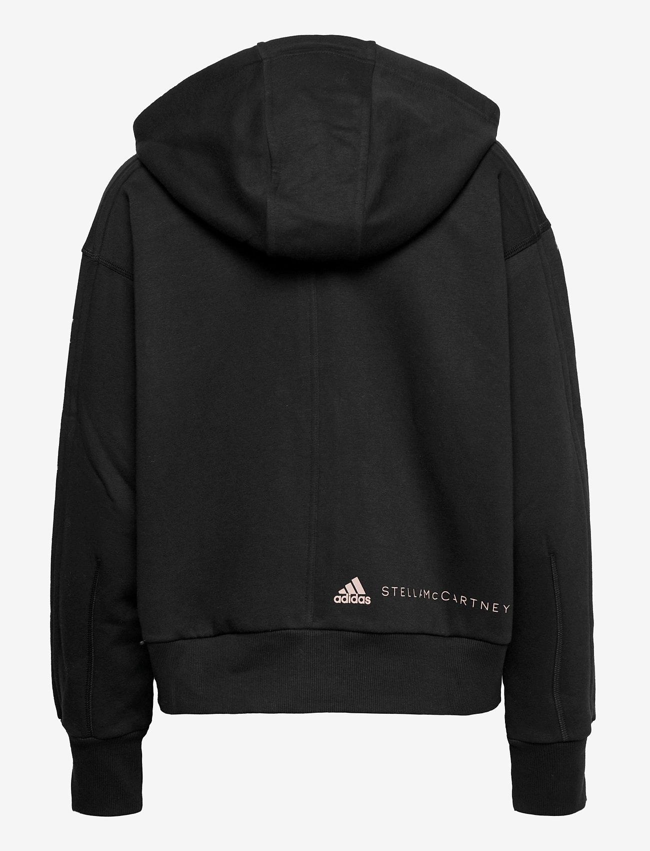 adidas by Stella McCartney - Full-Zip Cropped Hoodie W - sweatshirts & hoodies - black - 2