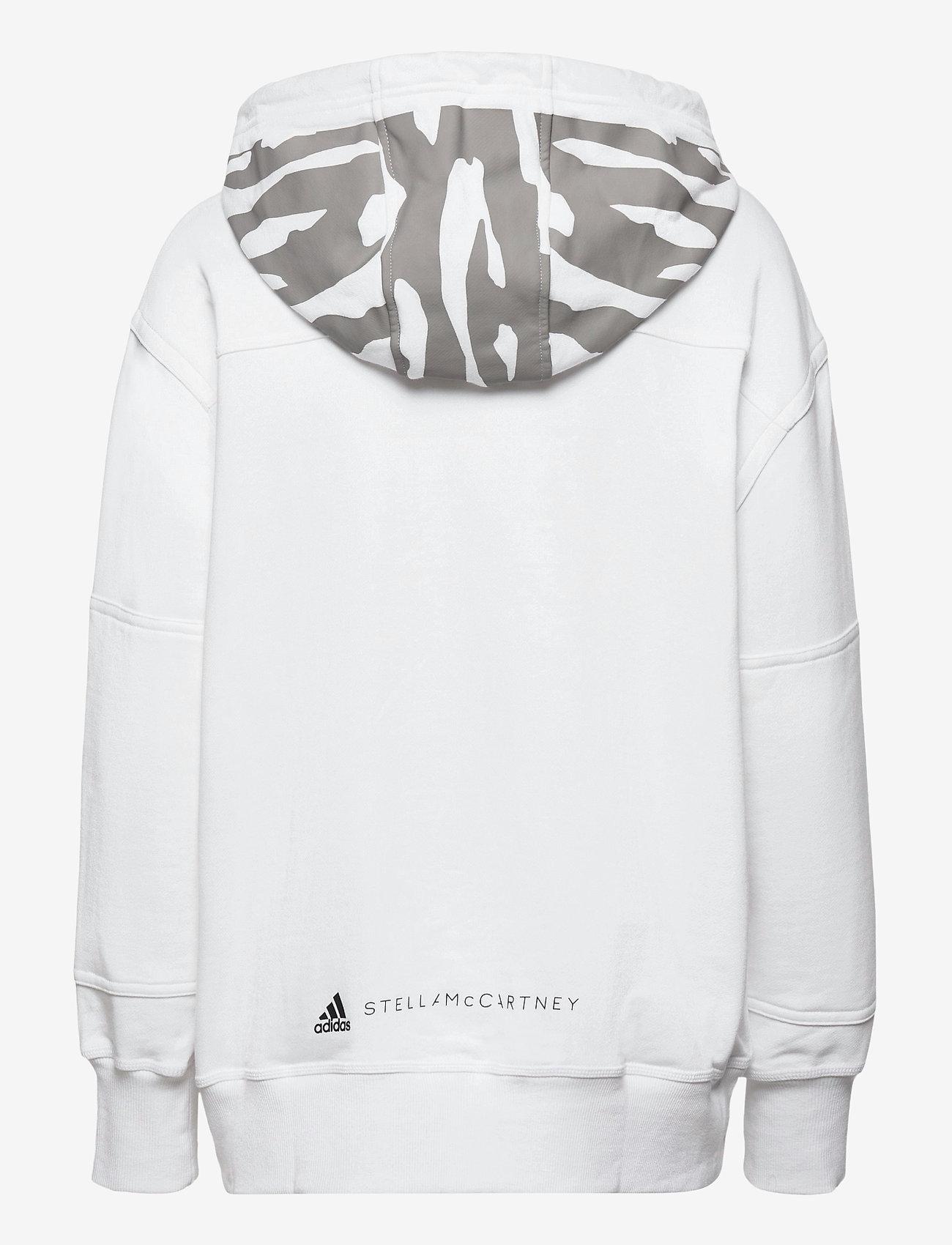 adidas by Stella McCartney - Sportswear Hooded Sweatshirt W - sweatshirts & hoodies - white - 2