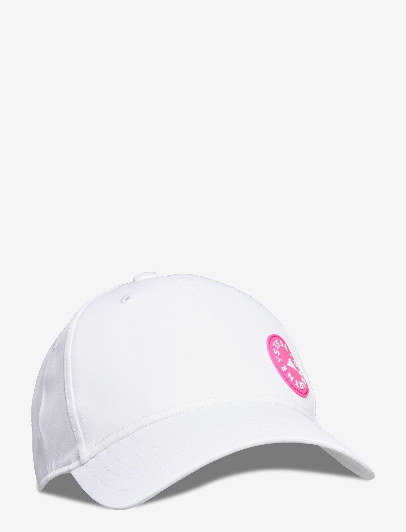adidas by Stella McCartney - Running Cap W - caps - white/sopink/white - 0