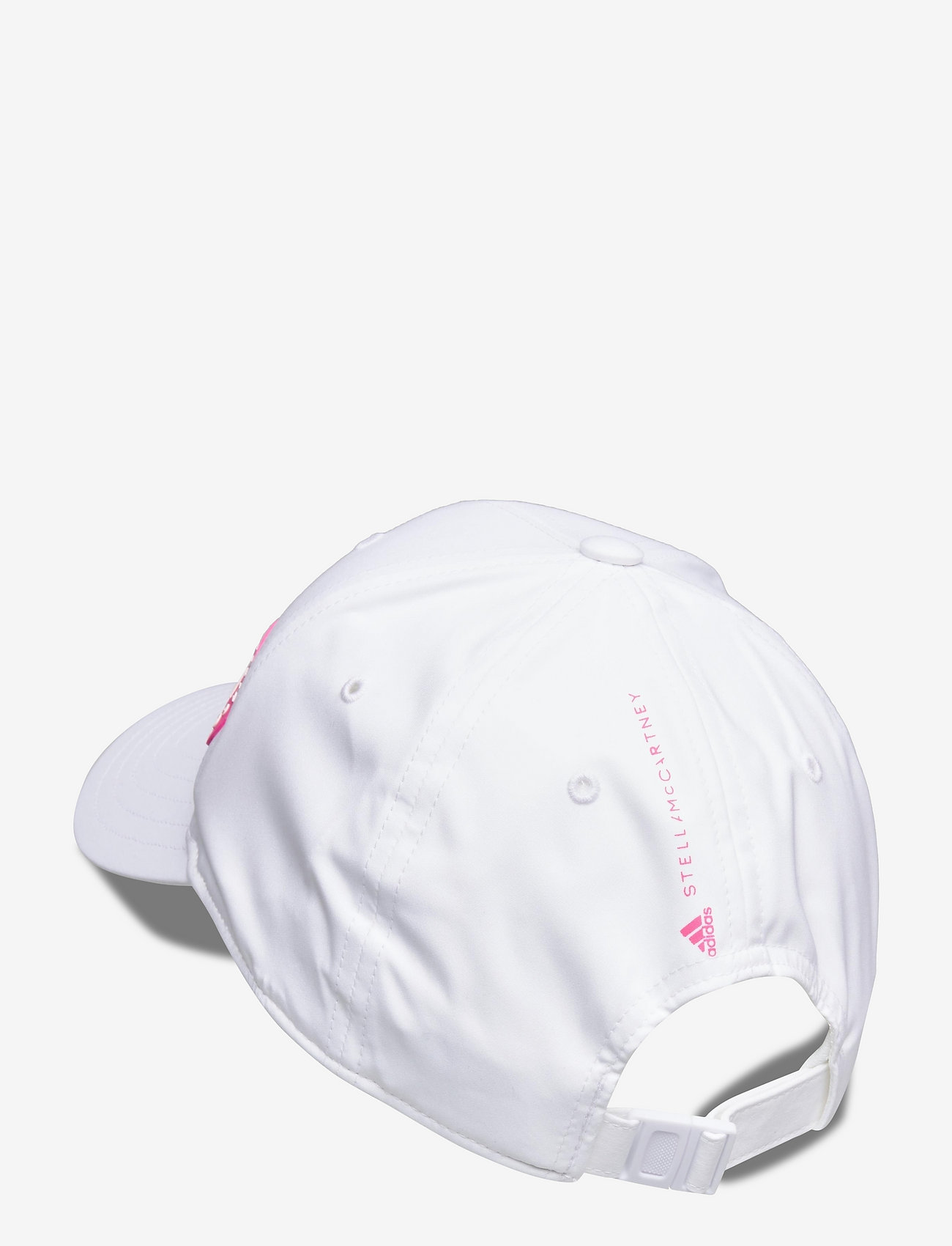 adidas by Stella McCartney - Running Cap W - caps - white/sopink/white - 1