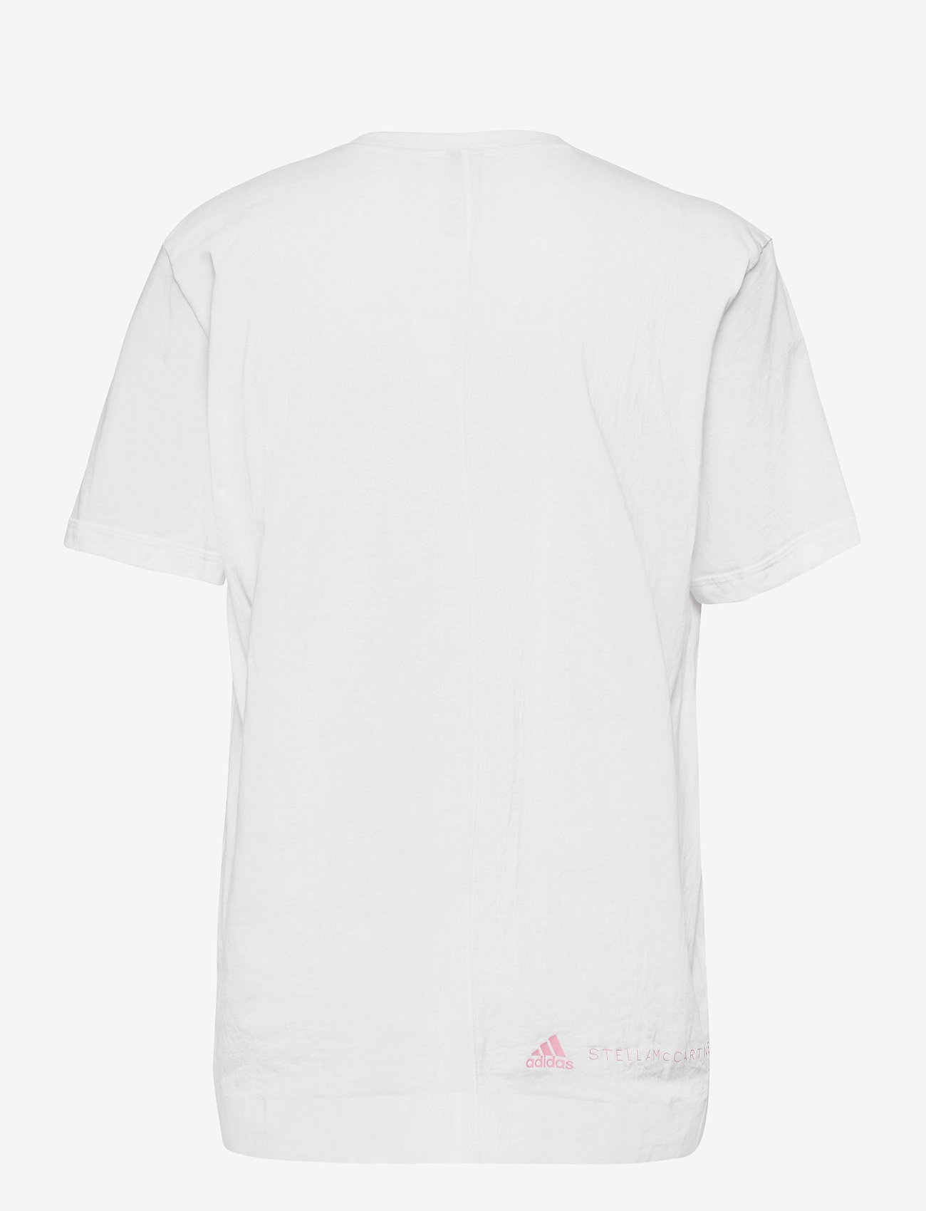adidas by Stella McCartney - Cotton T-Shirt W - t-shirts - white/white - 2