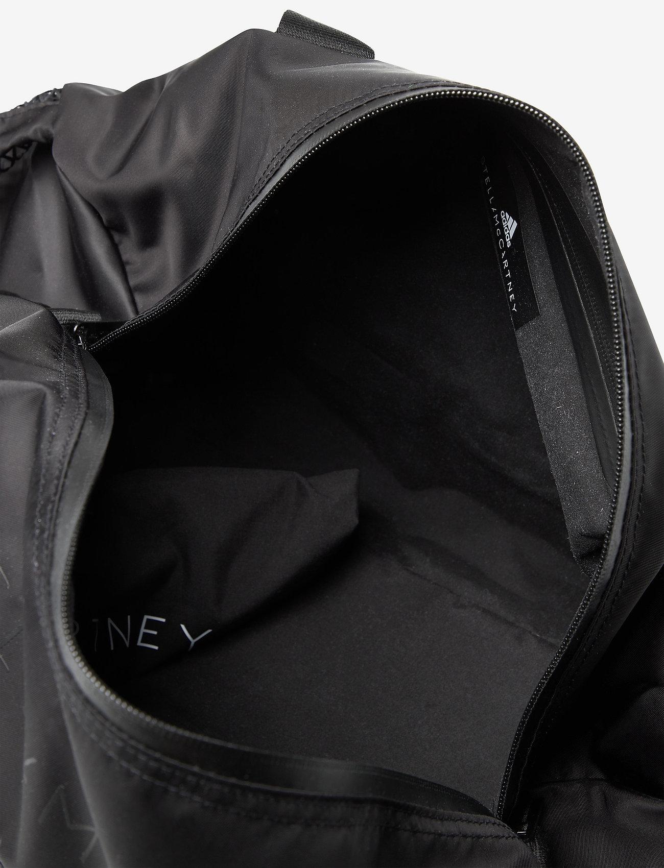 adidas by Stella McCartney - Round Studio Bag W - gym bags - black/sofpow - 4