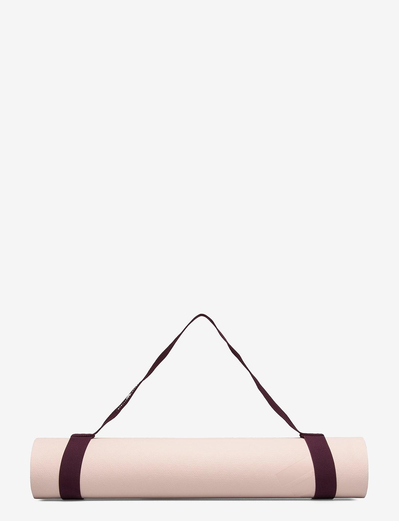 adidas by Stella McCartney - Yoga Mat W - yogamatten & uitrusting - pearos/maroon - 1