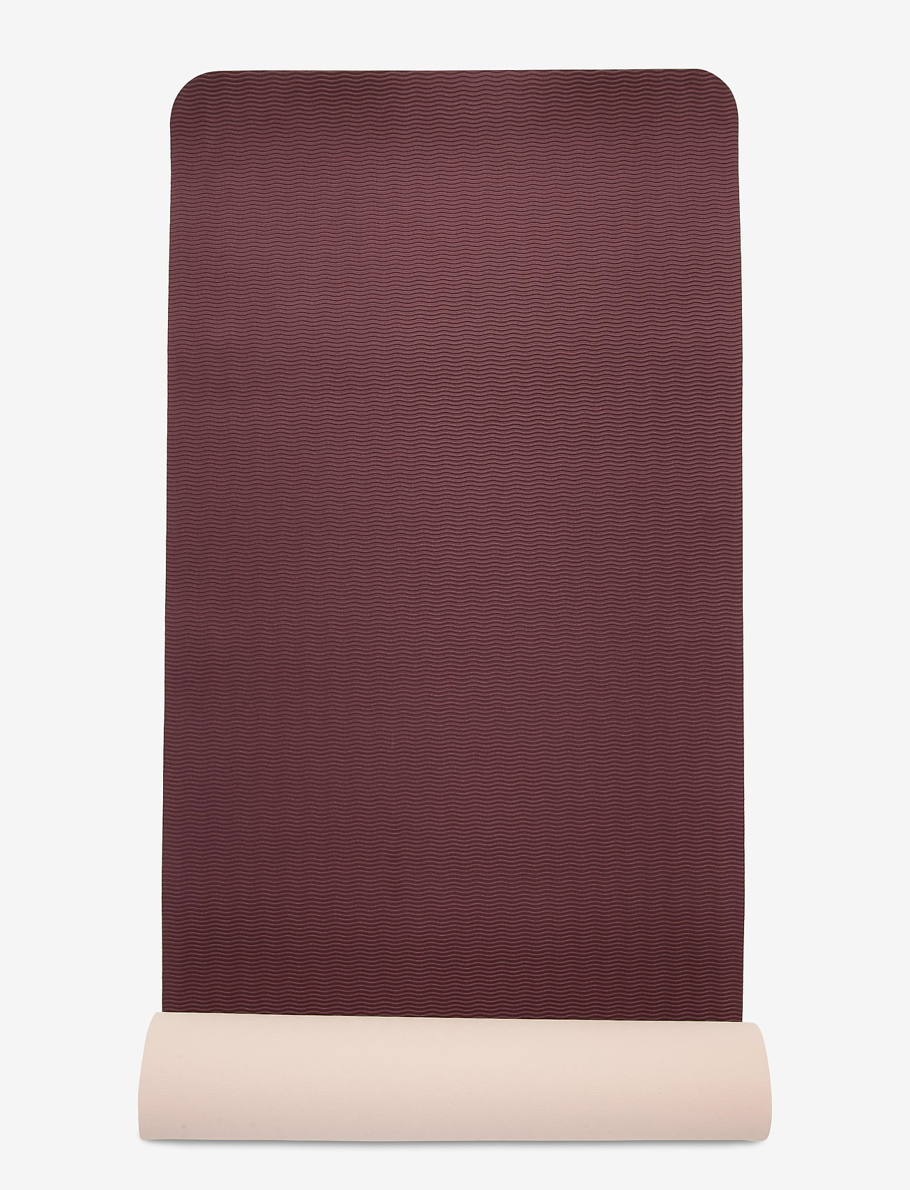 adidas by Stella McCartney - Yoga Mat W - yoga mats & accessories - pearos/maroon - 4