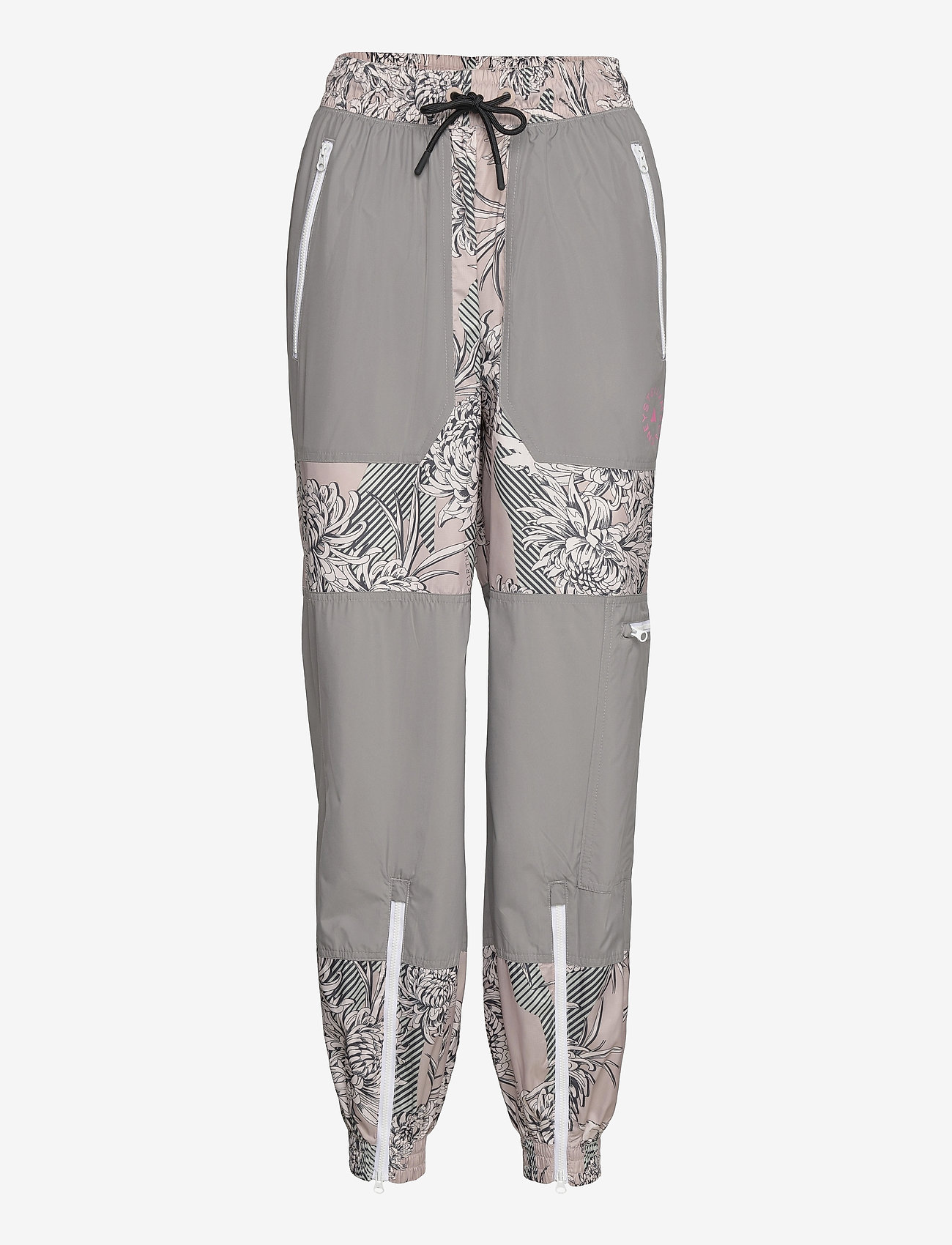 adidas by Stella McCartney - Future Playground Woven Pants W - sportbroeken - pnktin/talc/pearos/bl - 0