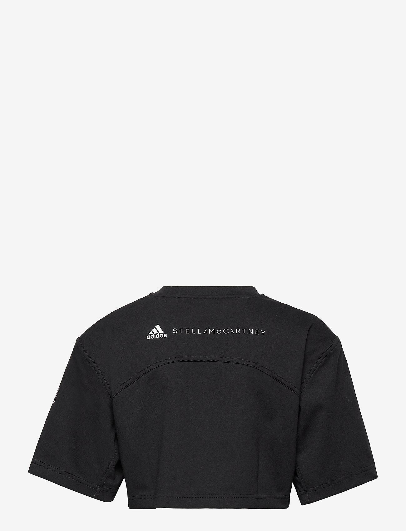 adidas by Stella McCartney - Future Playground Cropped T-Shirt W - tops & t-shirts - black - 2
